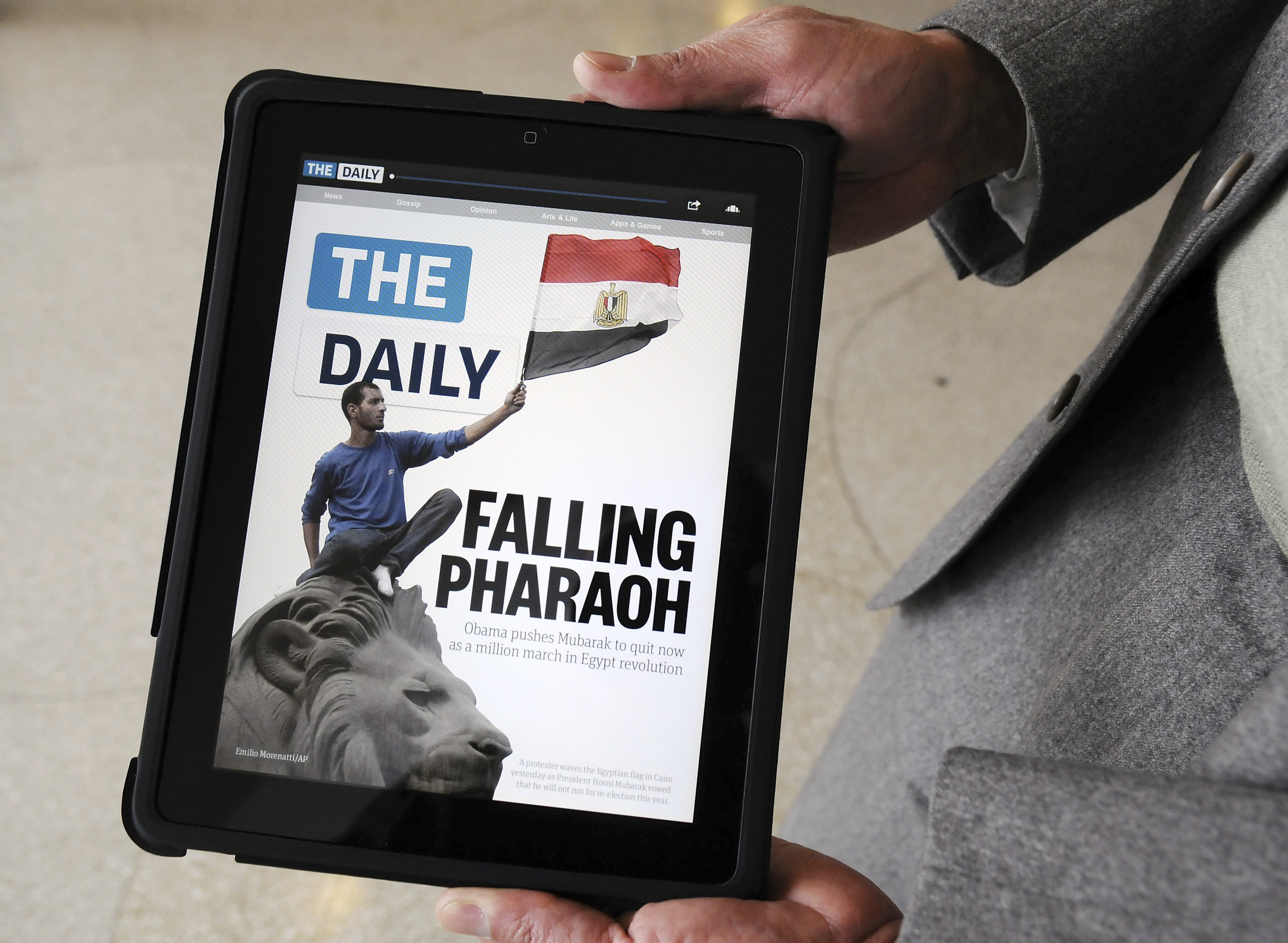 News Corp. Unwraps Daily Digital Publication For Apple's Ipad