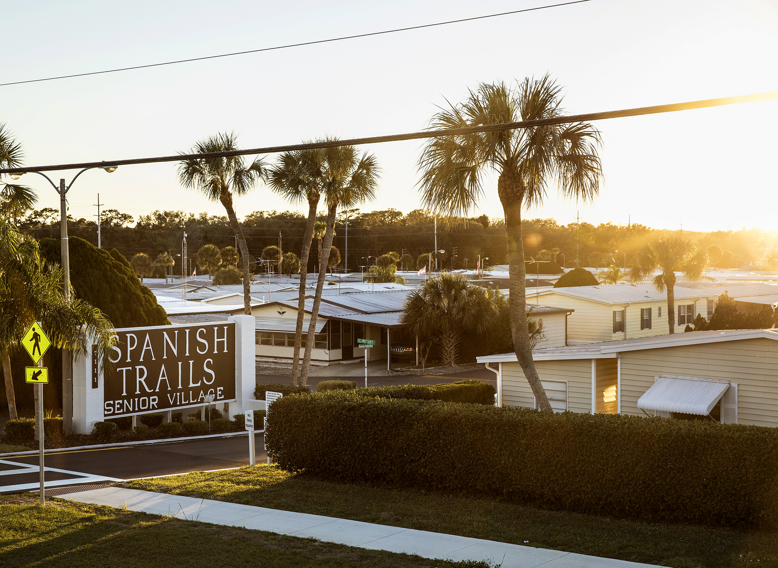 Spanish Trails is among more than 700 Florida trailer parks owned by their residents.