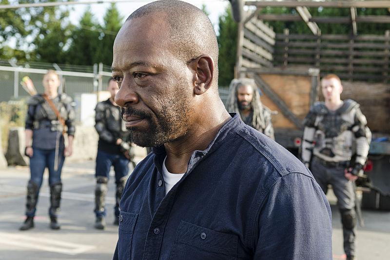 Lennie James as Morgan Jones - The Walking Dead Season 7, Episode 13
