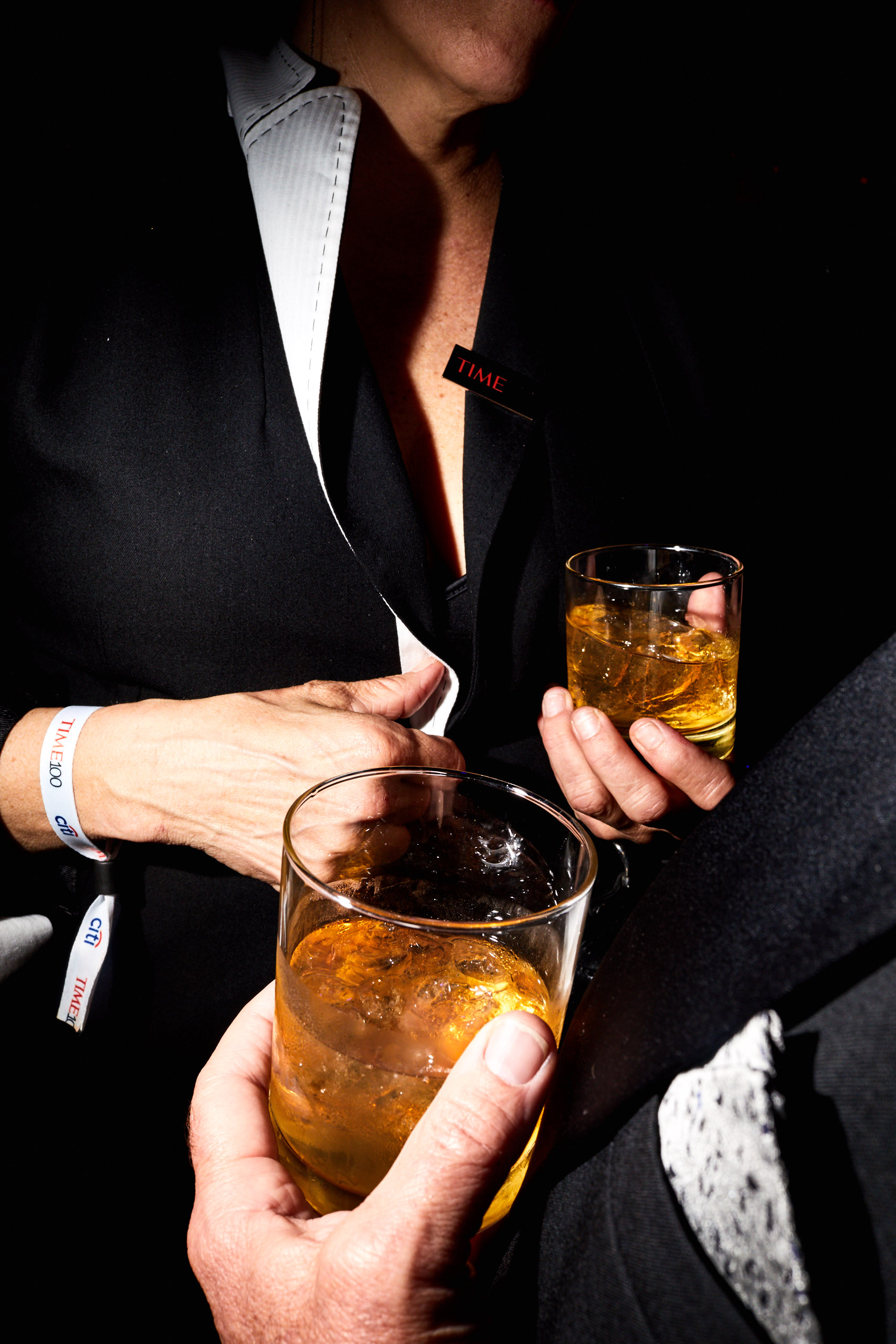Guests enjoying Johnnie Walker at the Time 100 Gala at Jazz at Lincoln Center on April 25, 2017 in New York City.