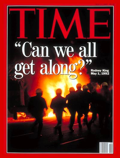 May 11, 1992, cover story on the LA riots