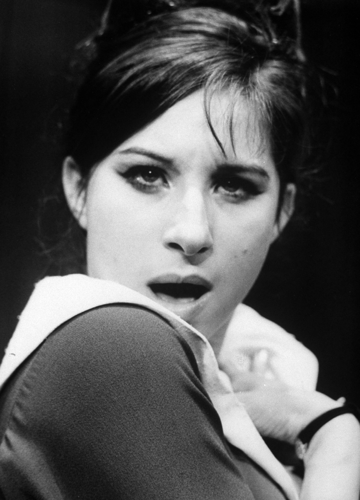 19-year-old Barbra Streisand as Miss Marmelstein in the Broadway play 'I Can Get It For You Wholesale.'