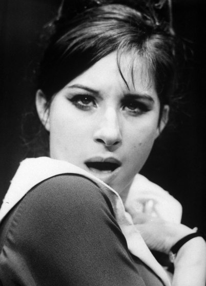 Barbra Streisand in the 1962 Broadway play I Can Get It For You Wholesale.