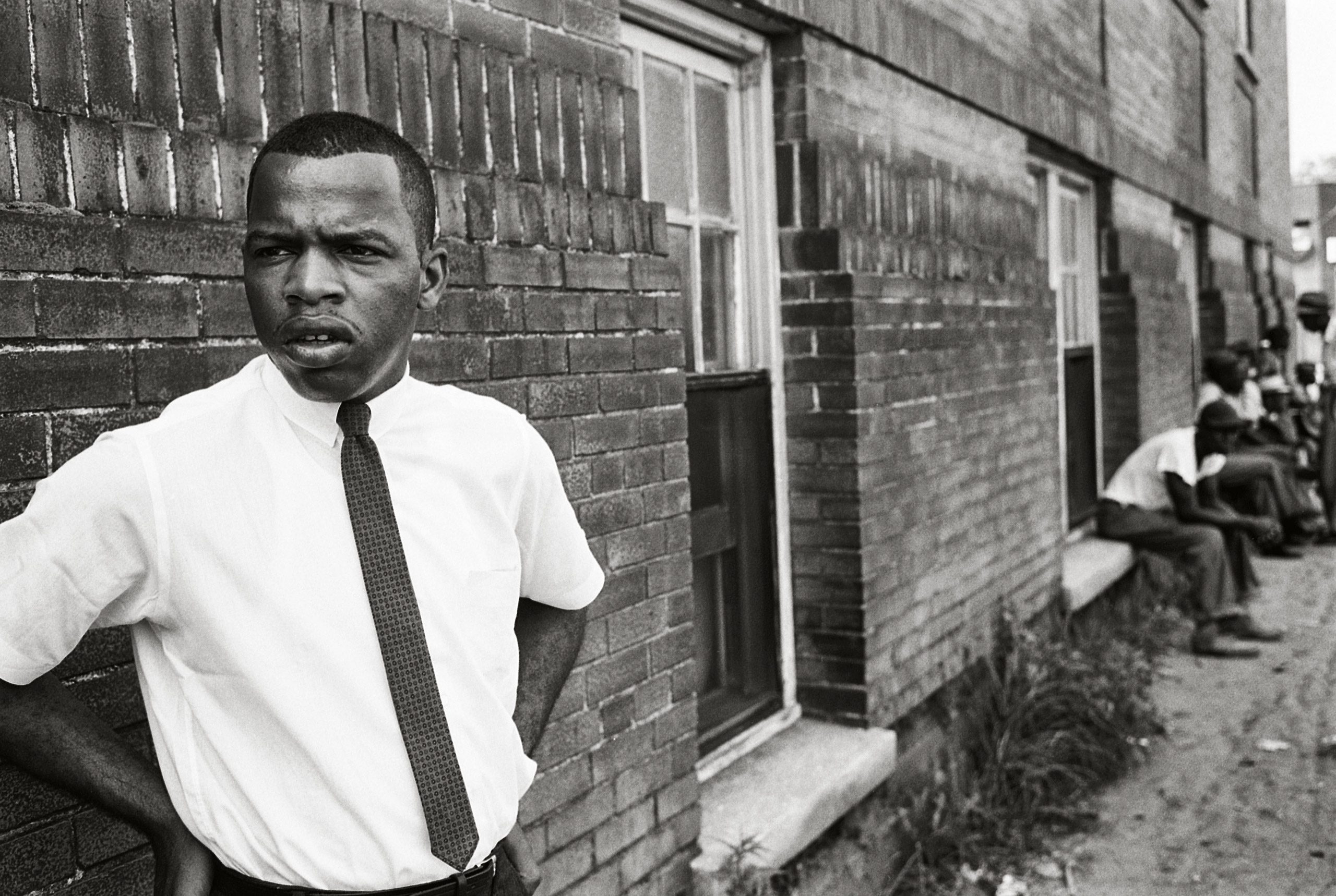 Previously Published.                               United States Representative John Lewis, then chairman of the Student Nonviolent                               Coordinating Committee (SNCC), in Clarksdale, May 1963. Congressman                               Lewis has written an original introduction                               to this edition of The Fire Next Time.