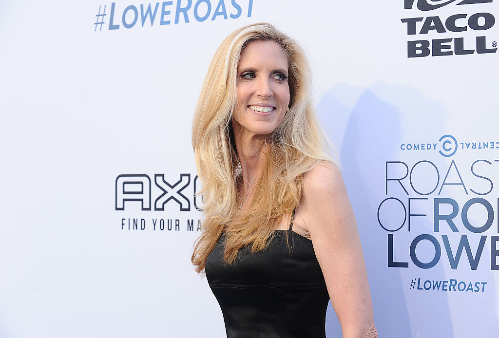 Ann Coulter attends the Comedy Central Roast of Rob Lowe at Sony Studios on August 27, 2016 in Los Angeles, California.