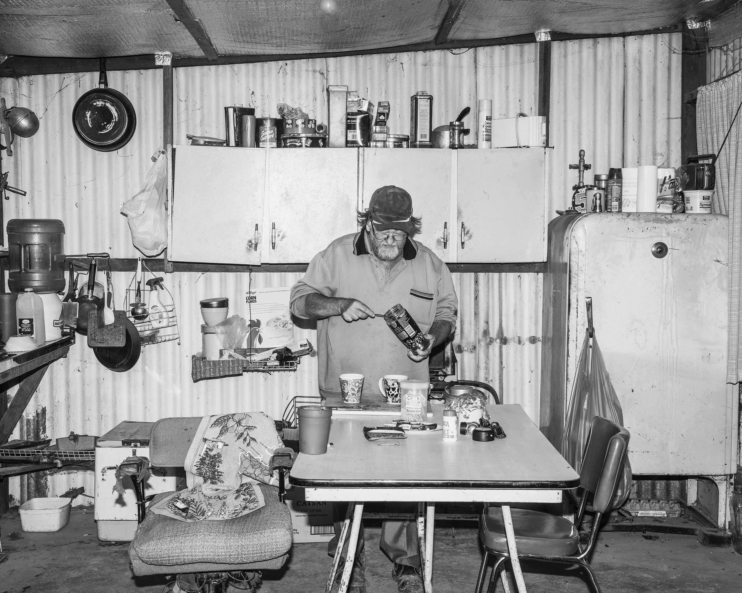 Rabbit's Kitchen, Coober Pedy, Australia, 2016.