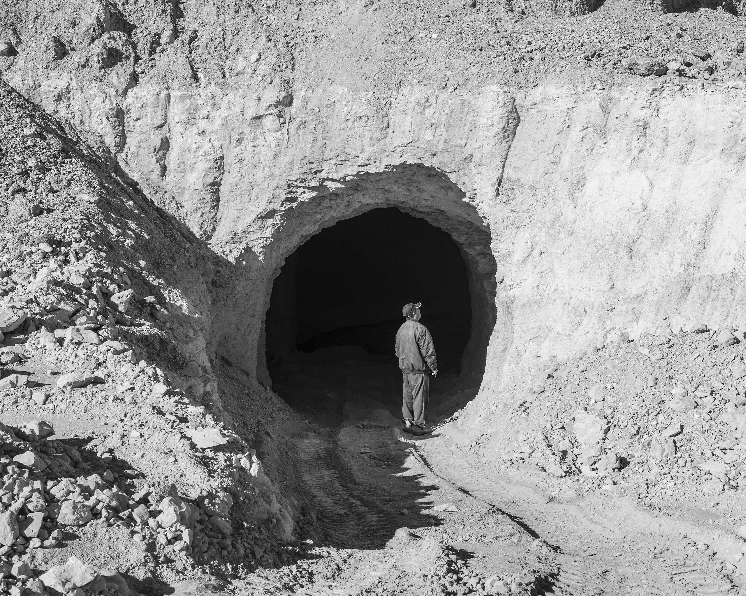 Mine Entrance, Coober Pedy, Australia, 2016.