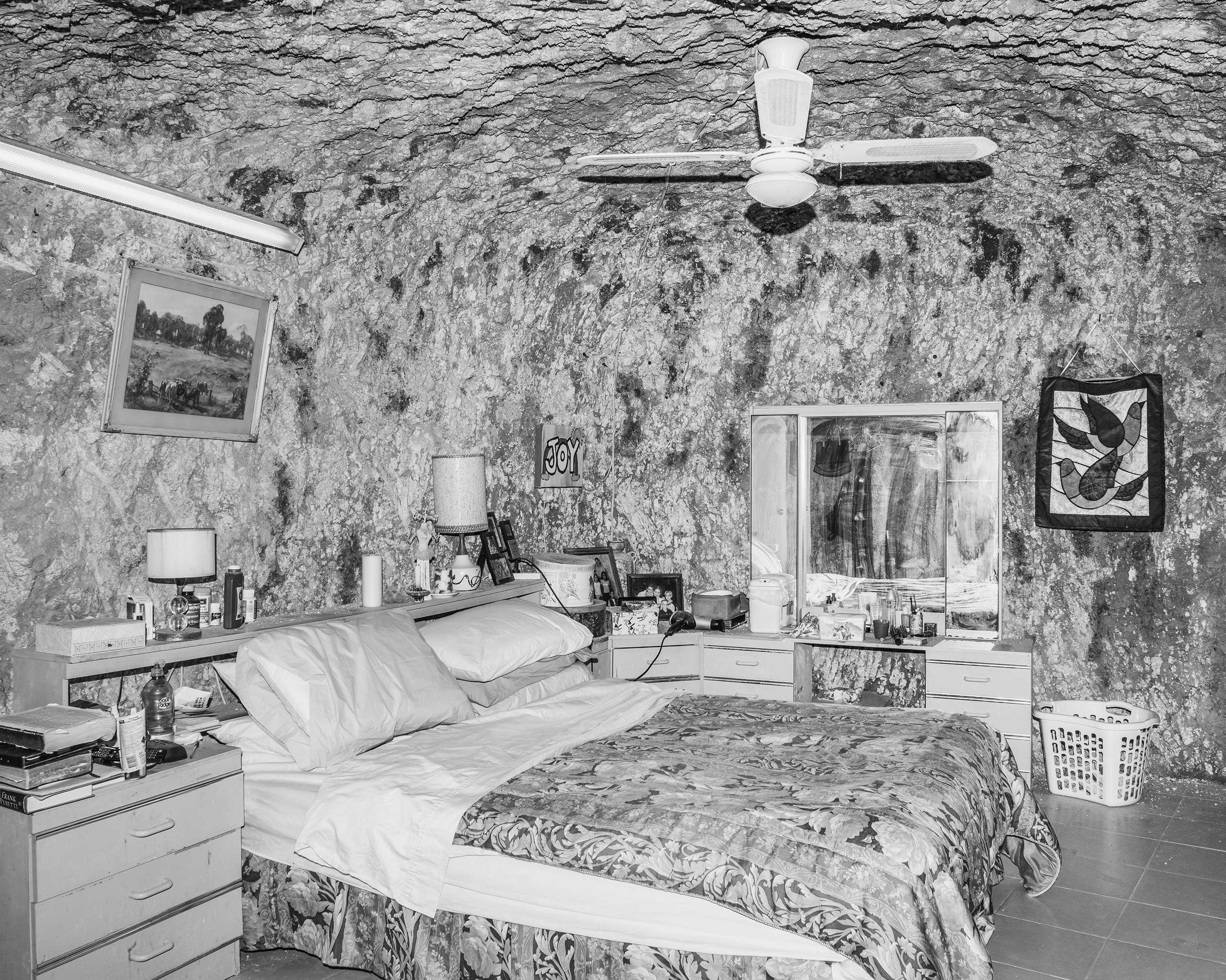 George and Suzy's Bedroom, Coober Pedy, Australia, 2016.