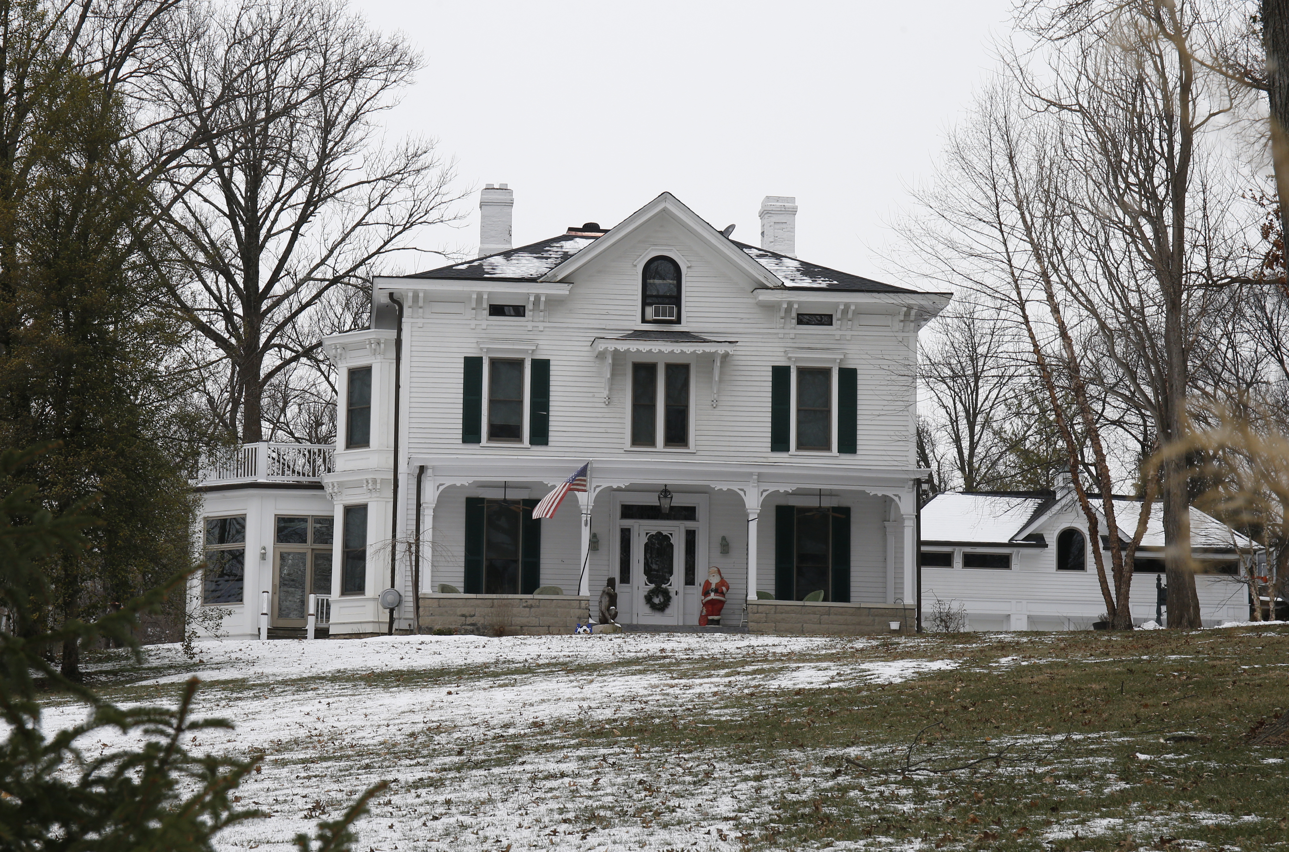 The Warmbier family home in Wyoming, Ohio, on Jan. 22, 2016.
