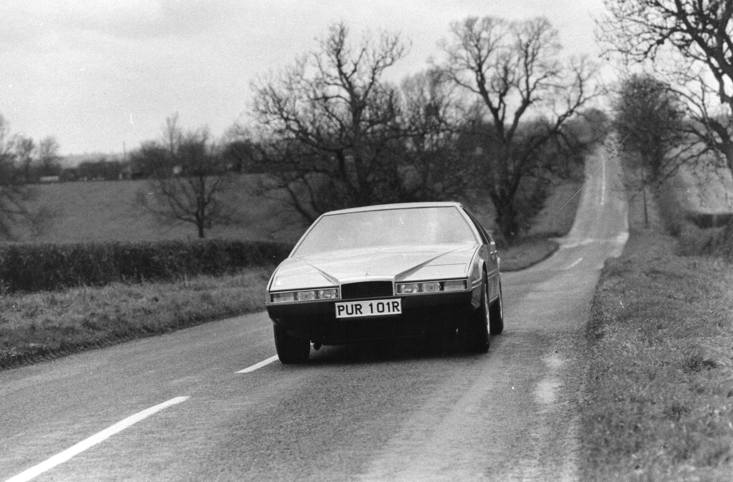 1st December 1976: The latest Aston Martin - the Lagonda.