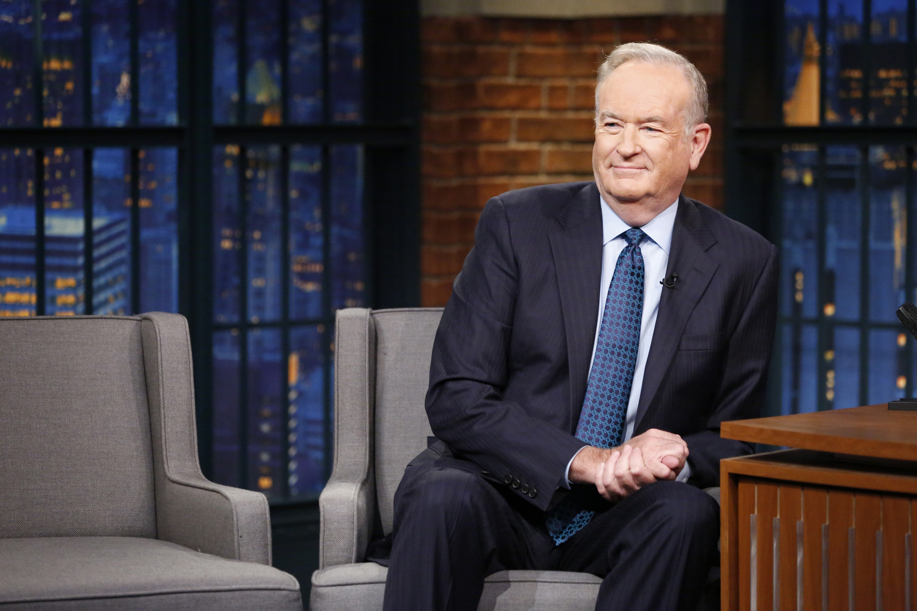Political commentator, Bill O'Reilly, during an interview on July 13, 2016.