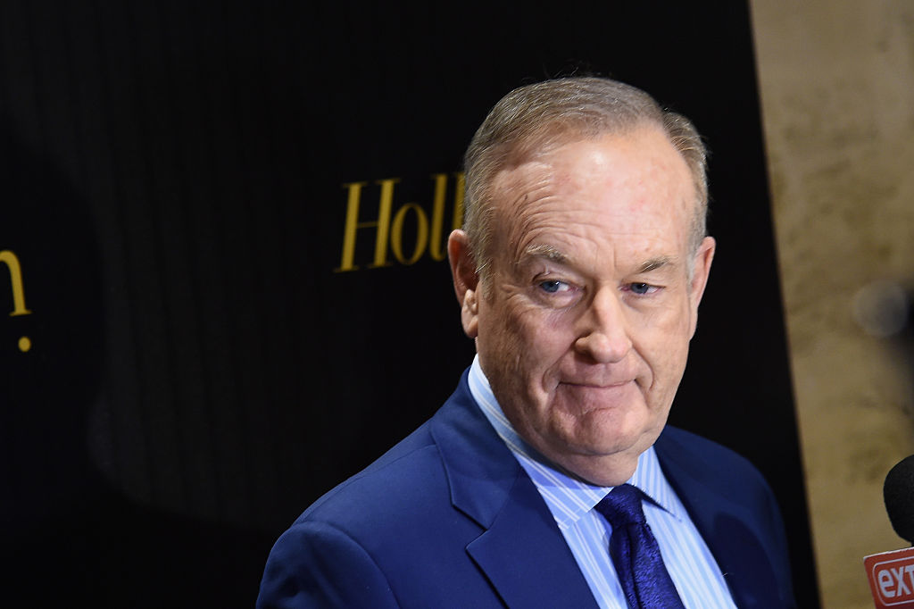 Bill O'Reilly attends the Hollywood Reporter's 2016 35 Most Powerful People in Media at Four Seasons Restaurant on April 6, 2016 in New York City.