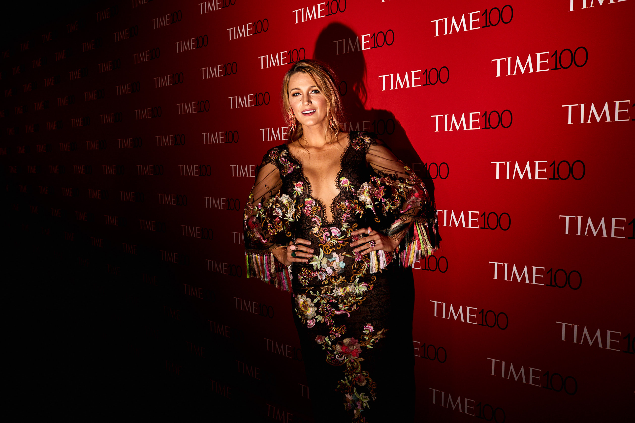 Blake Lively at the Time 100 Gala at Jazz at Lincoln Center on April 25, 2017 in New York City.
