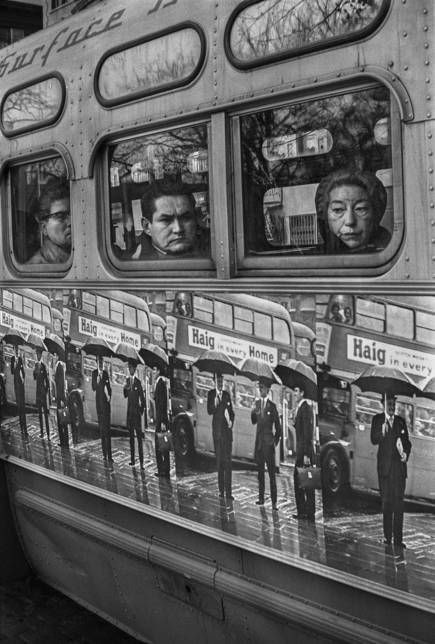 8th Street Crosstown Bus, 1965.