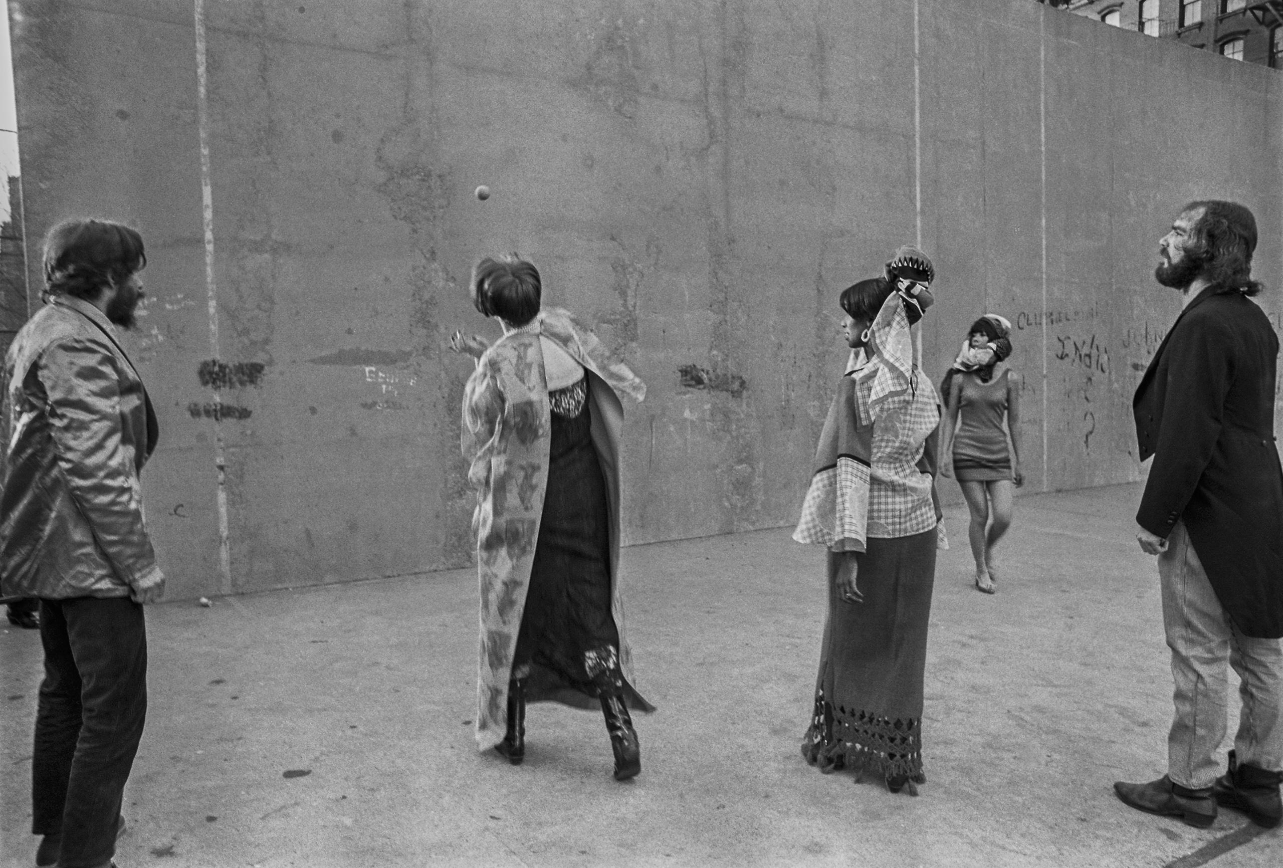 Fashion Shoot, New York, 1966.
