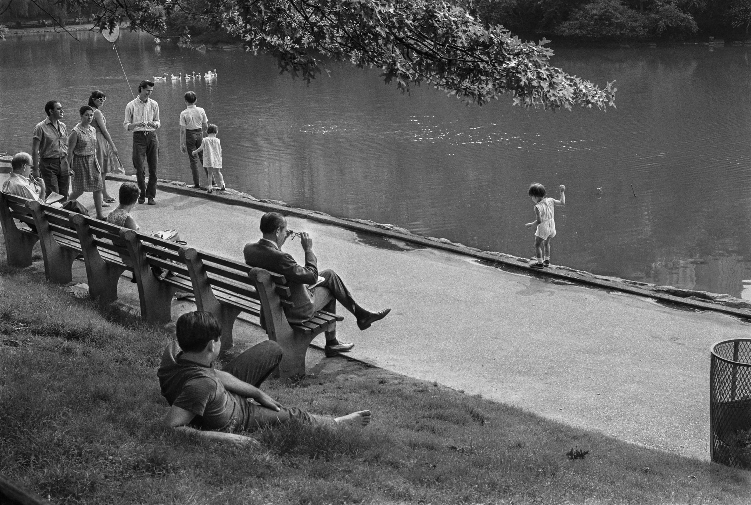 Central Park, 1967.