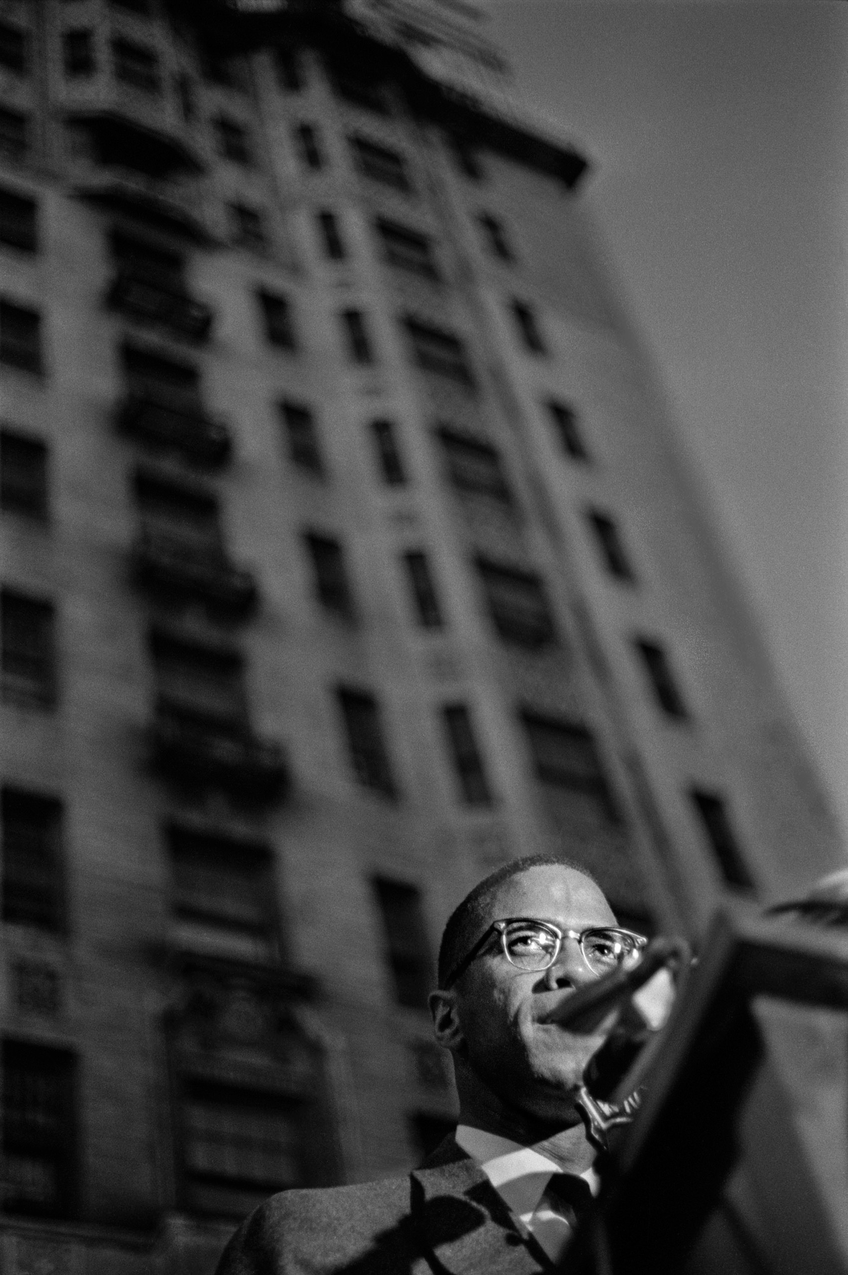 Malcolm X, 1963.