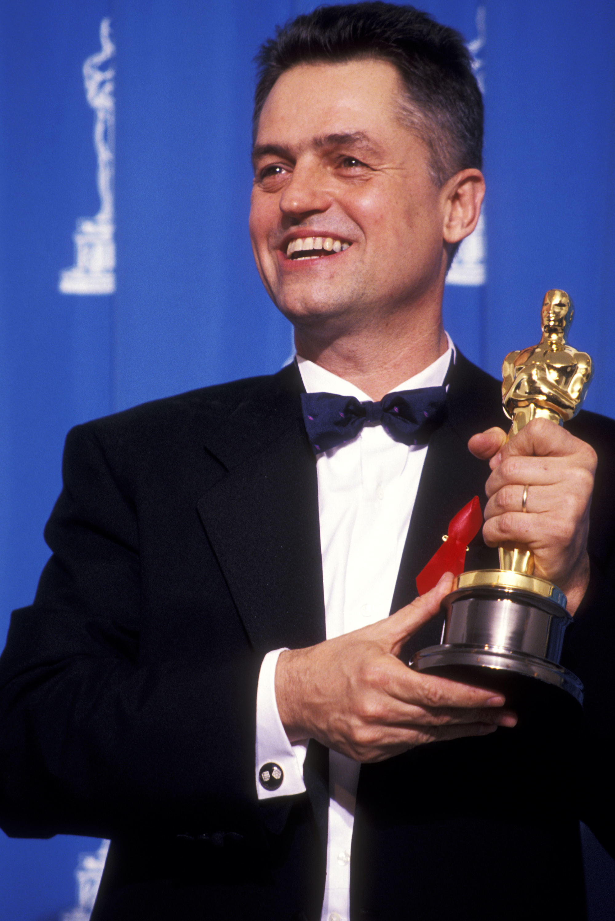 Jonathan Demme attends the 64th Annual Academy Awards in Los Angeles, on March 30, 1992.