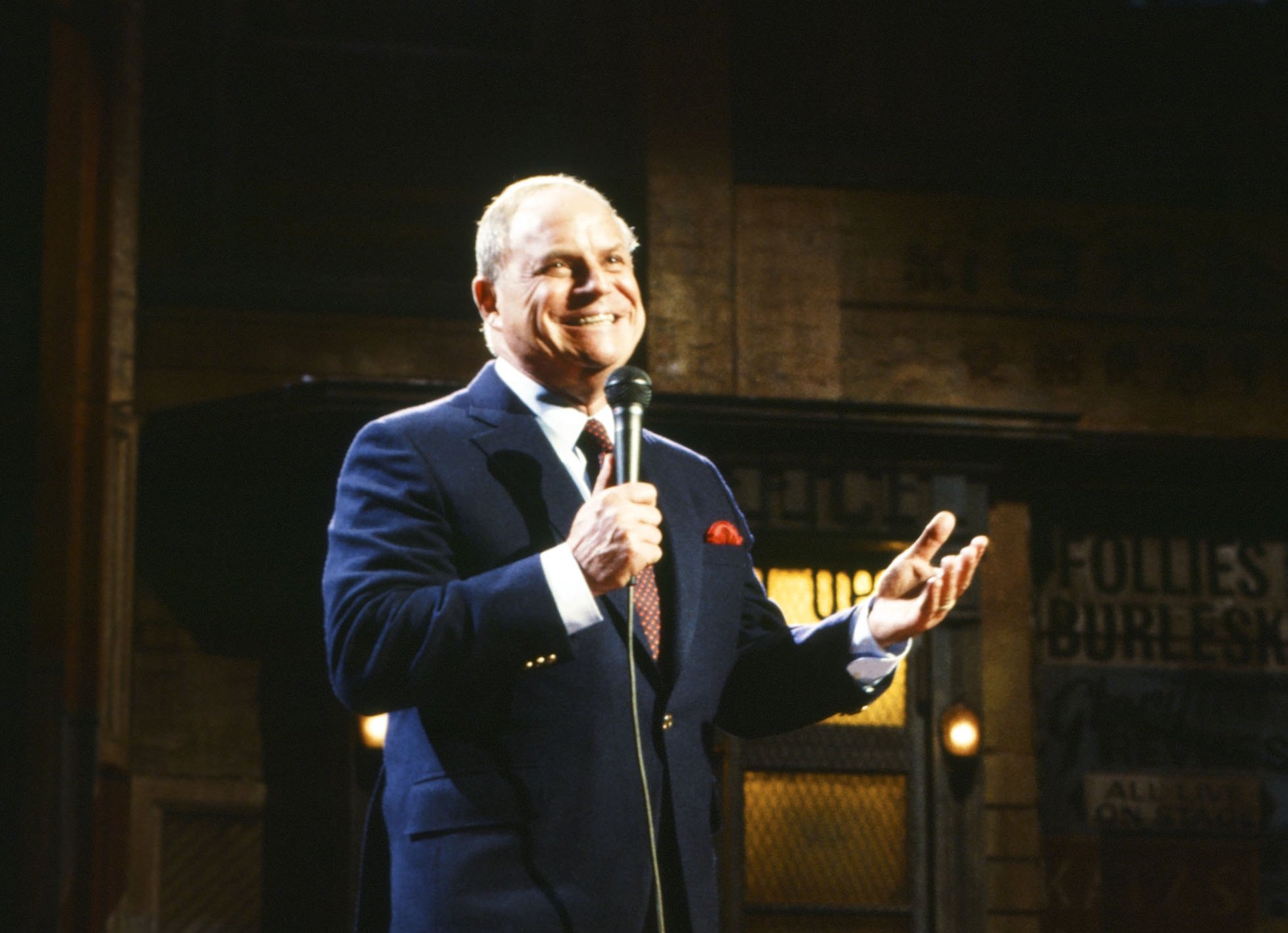 Don Rickles during his Saturday Night Live monologue on Jan. 28, 1984.