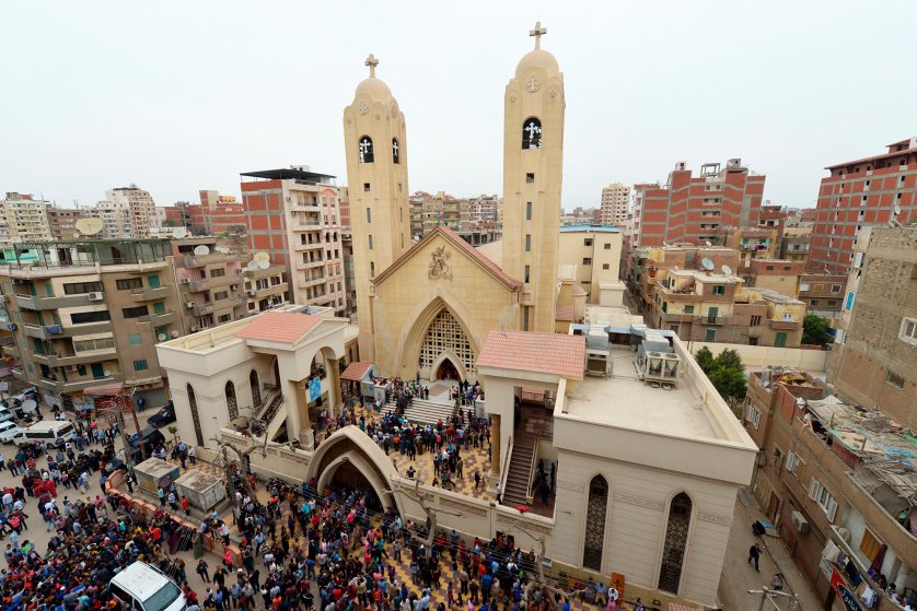 EGYPT-BOMBING-CHRISTIANS
