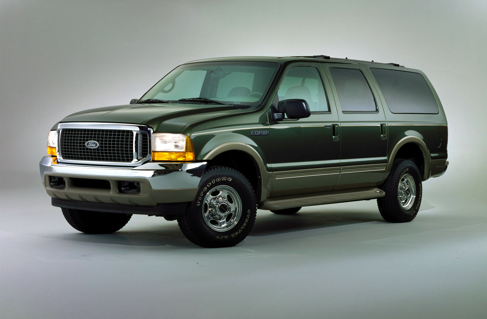 The 2000 Ford Excursion that became available in October 1999.