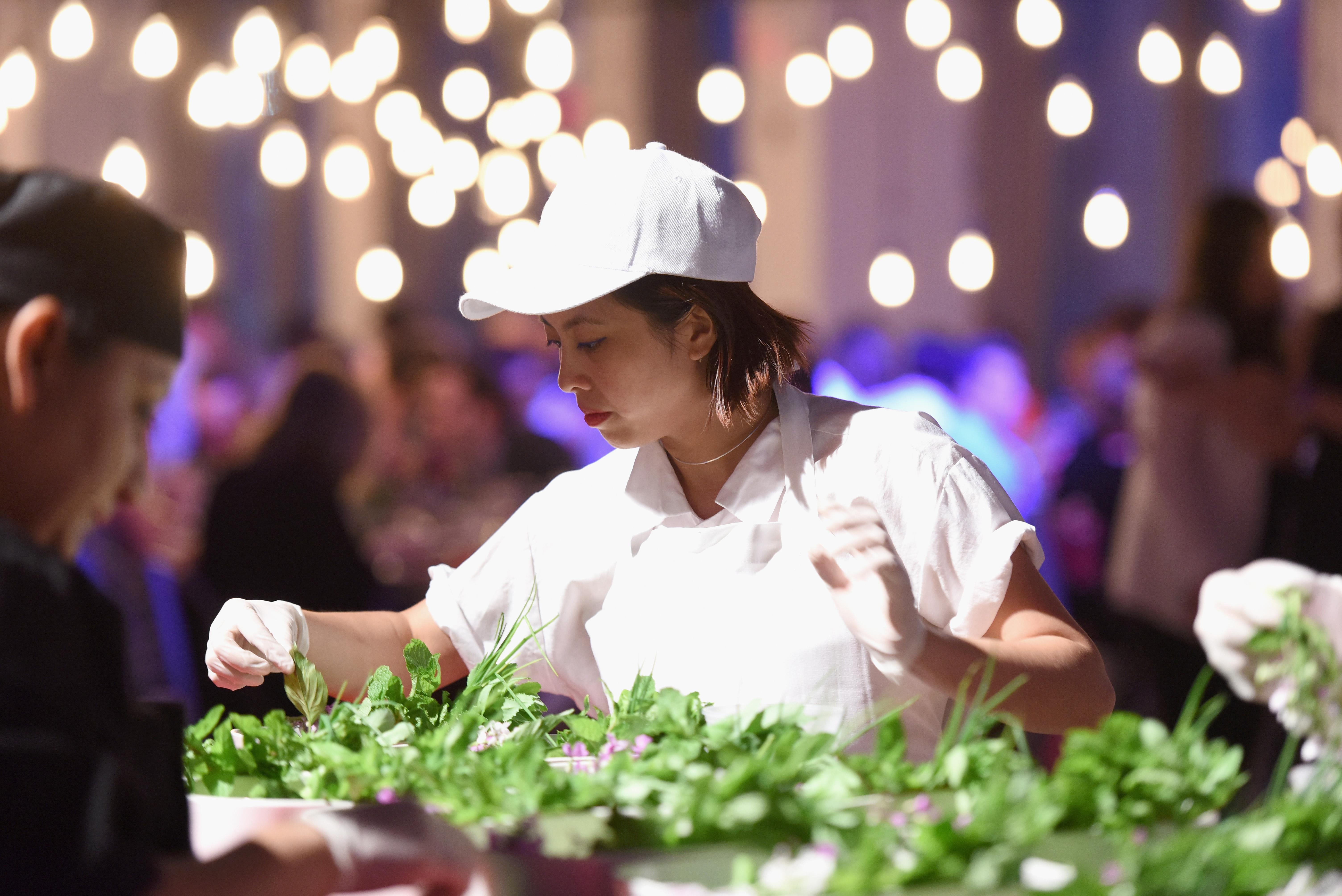 Chef Angela Dimayuga on June 2, 2016 in New York City.