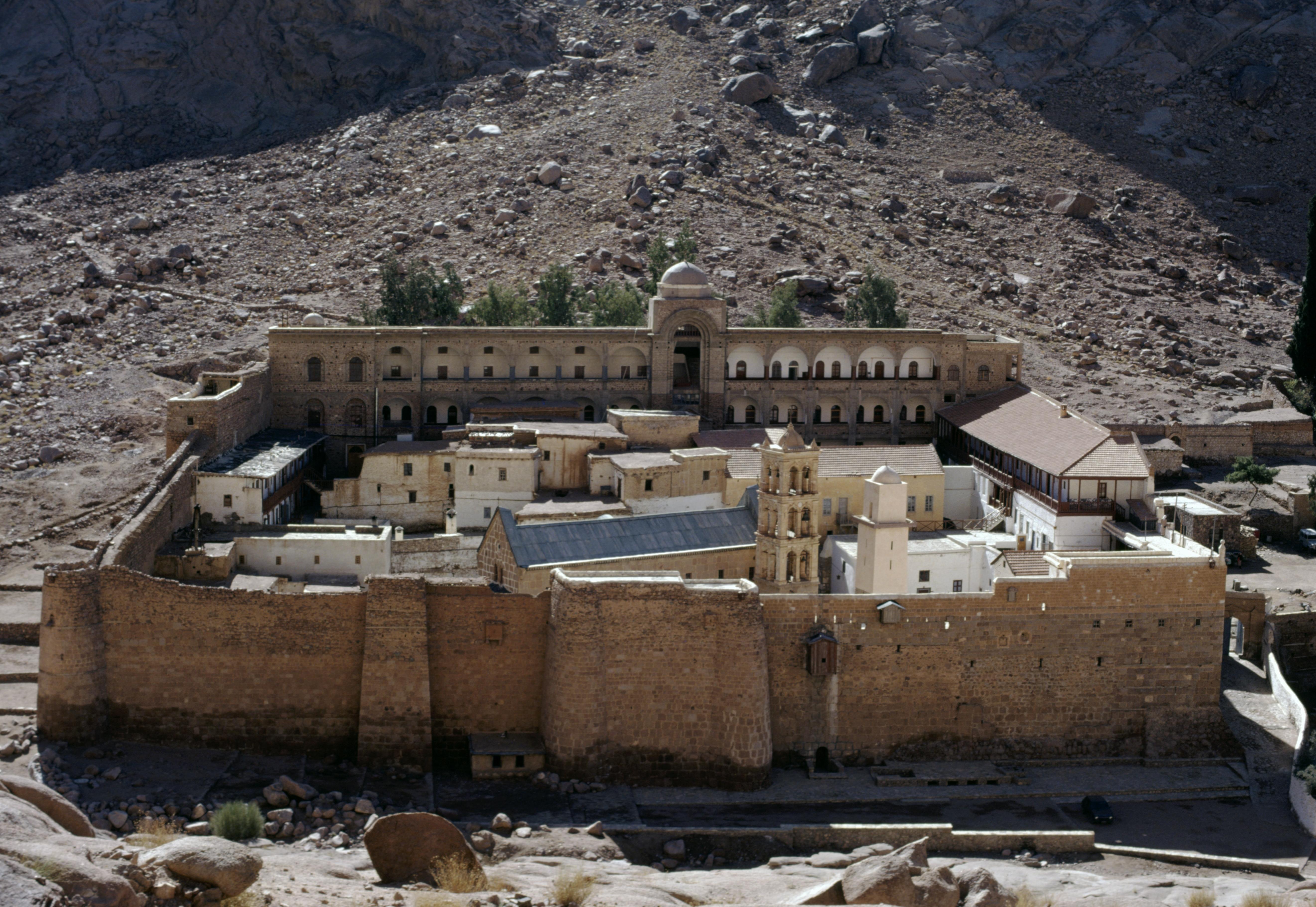 Saint Catherine's Monastery, 6th century (UNESCO World Heritage List, 2002), Sinai Peninsula, Egypt.