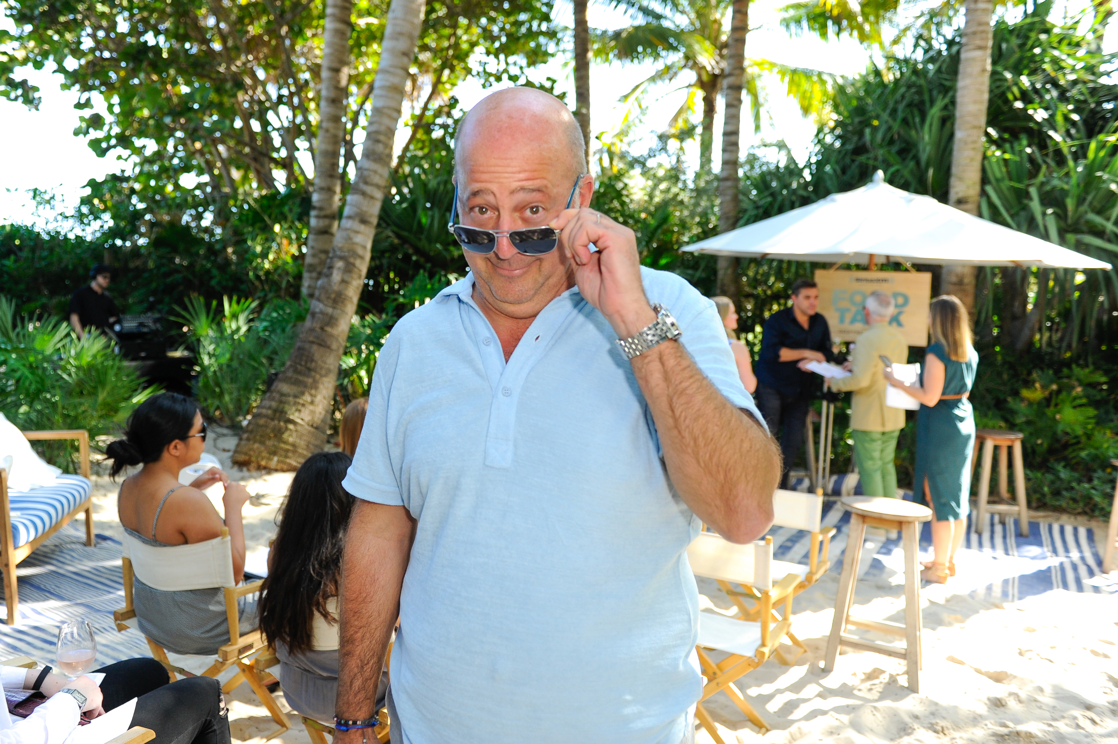 Andrew Zimmern on February 24, 2017 in Miami, Florida.