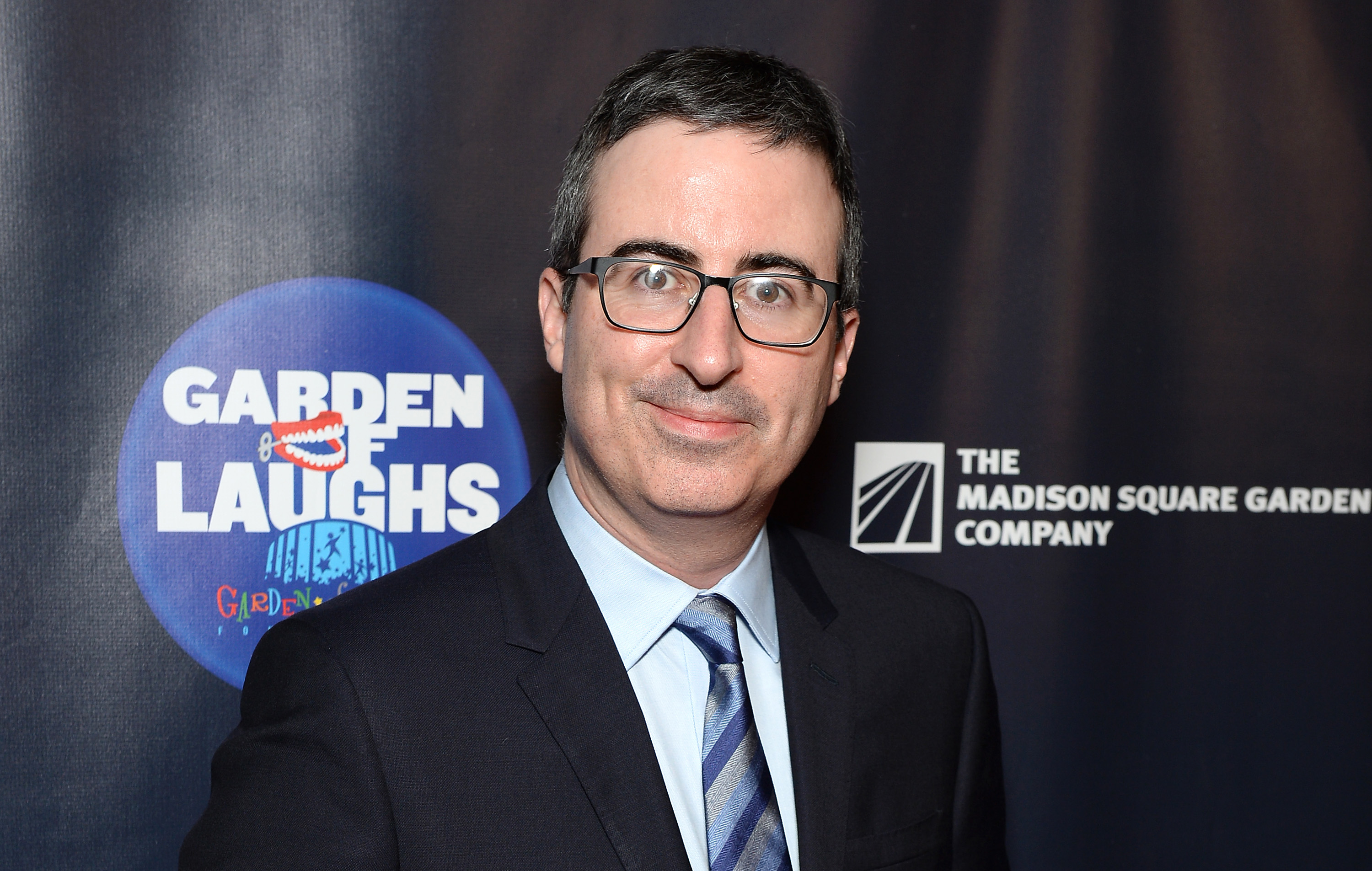 John Oliver attends the 2017 Garden of Laughs at Madison Square Garden on March 28, 2017 in New York City.