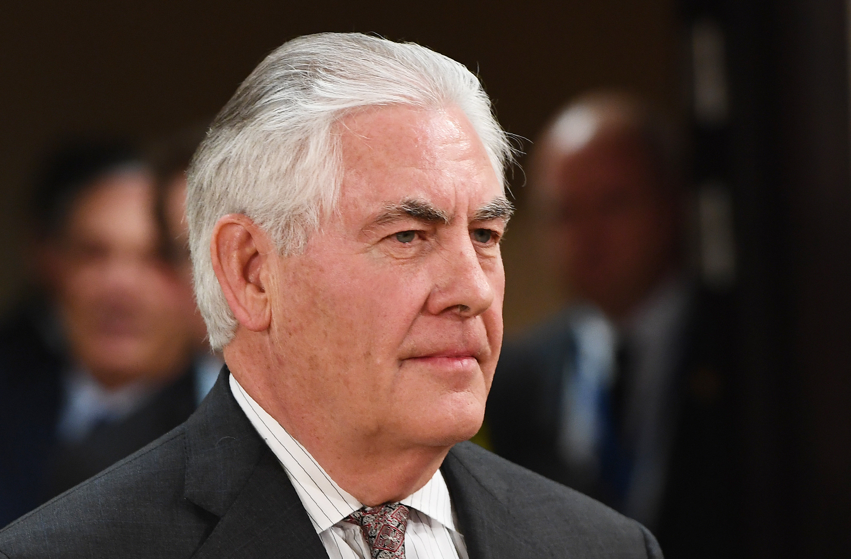 U.S. Secretary of State Rex Tillerson in Brussels on March 31, 2017.