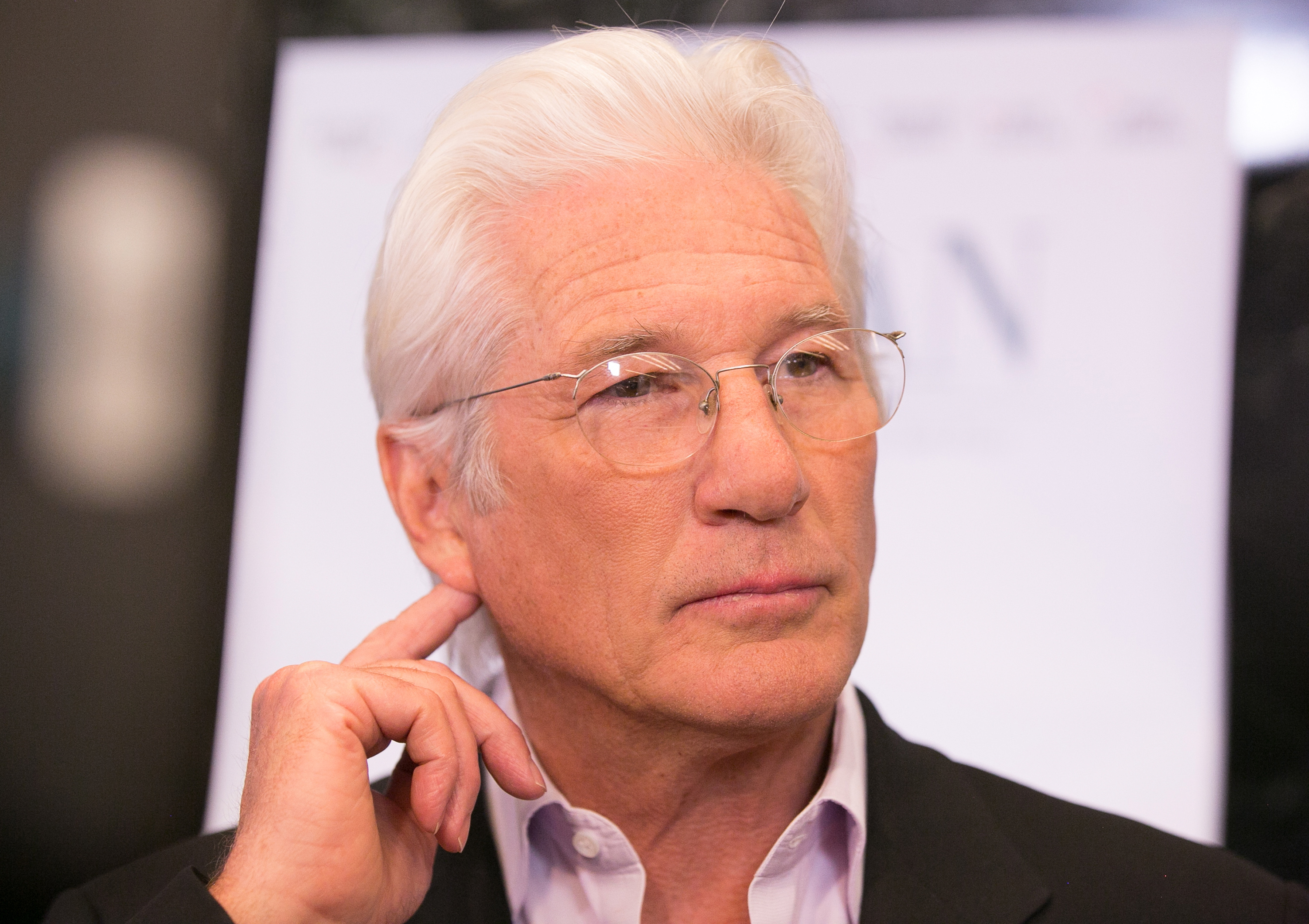 Richard Gere arrives for the premiere of Sony Pictures Classics'  Norman  at Linwood Dunn Theater at the Pickford Center for Motion Study on April 5, 2017 in Hollywood, California.