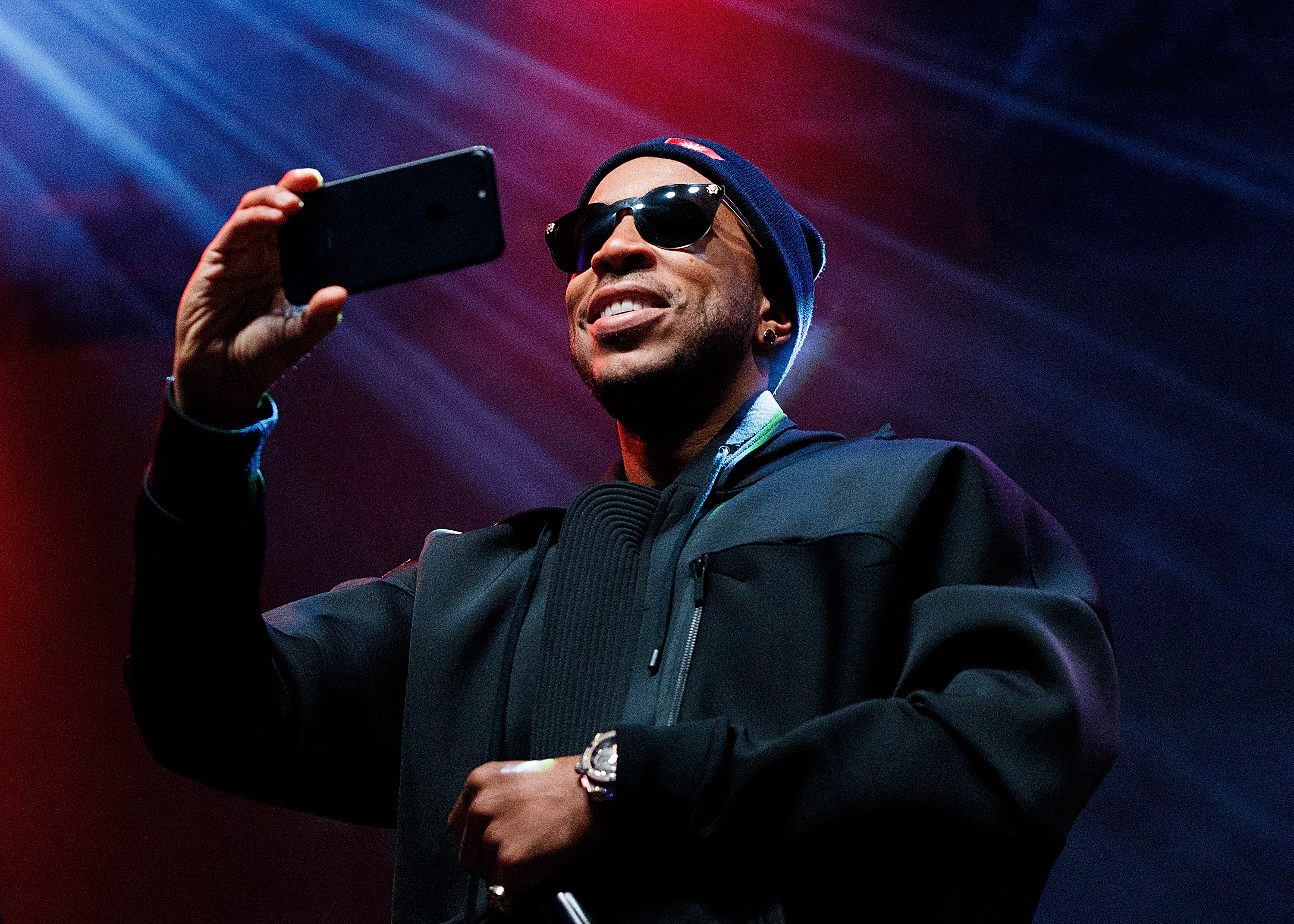 Hip-hop artist Ludacris performs on stage during Day 4 of Coors Light Snowbombing at Sun Peaks Resort on April 9, 2017 in Sun Peaks, Canada.