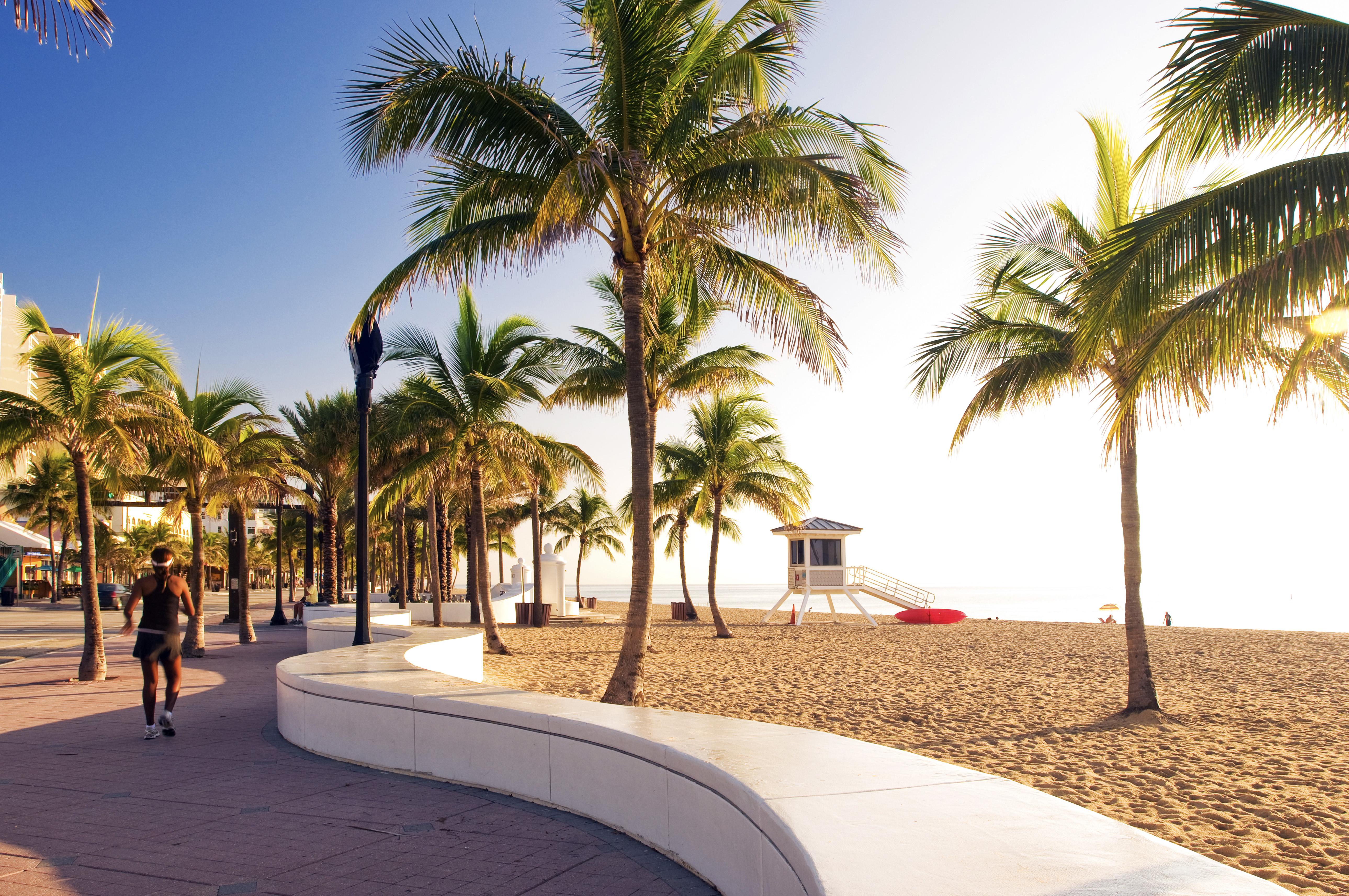 Beach, Fort Lauderdale, Florida, USA