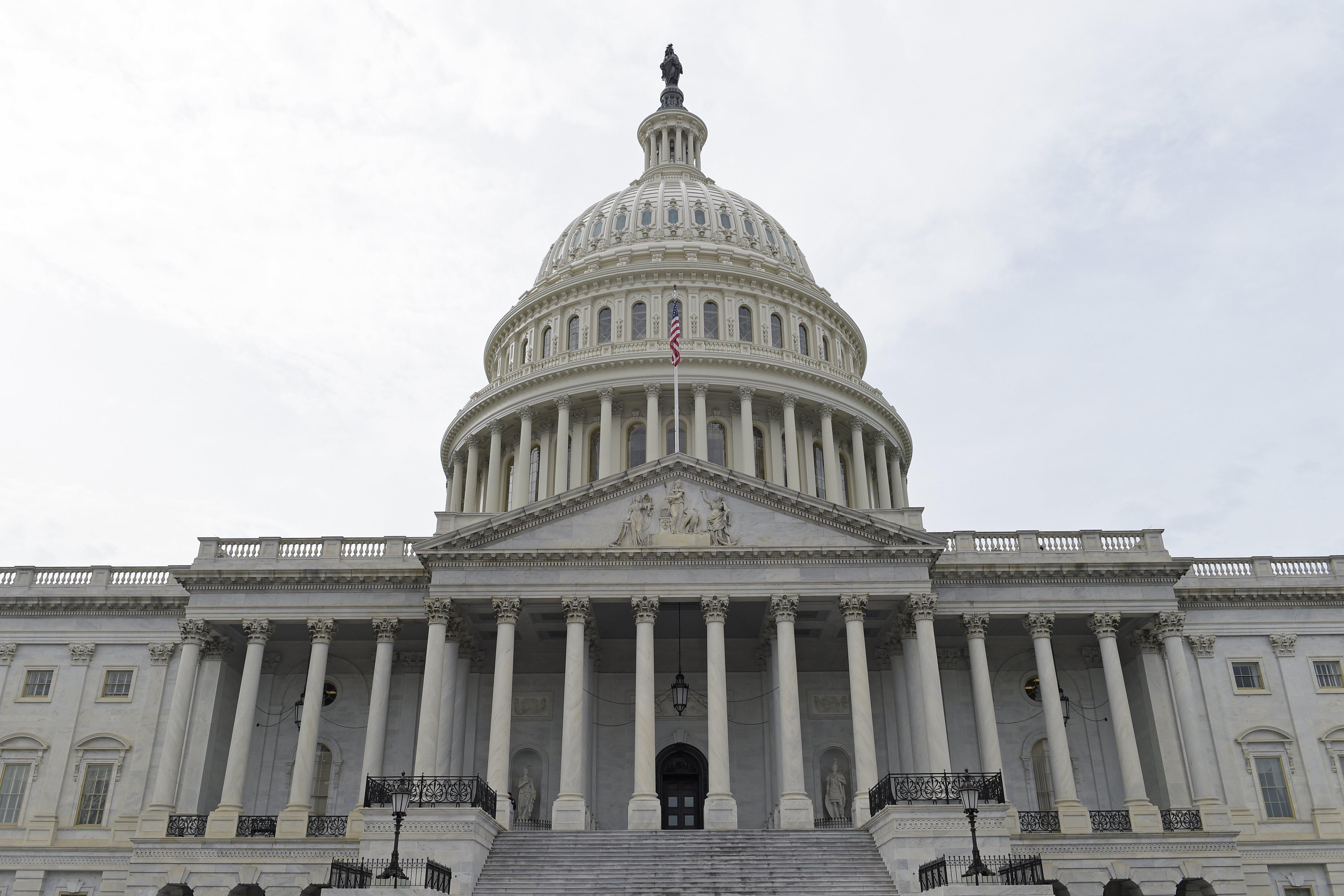 Capitol Hill in Washington, DC, on Feb. 28, 2017.