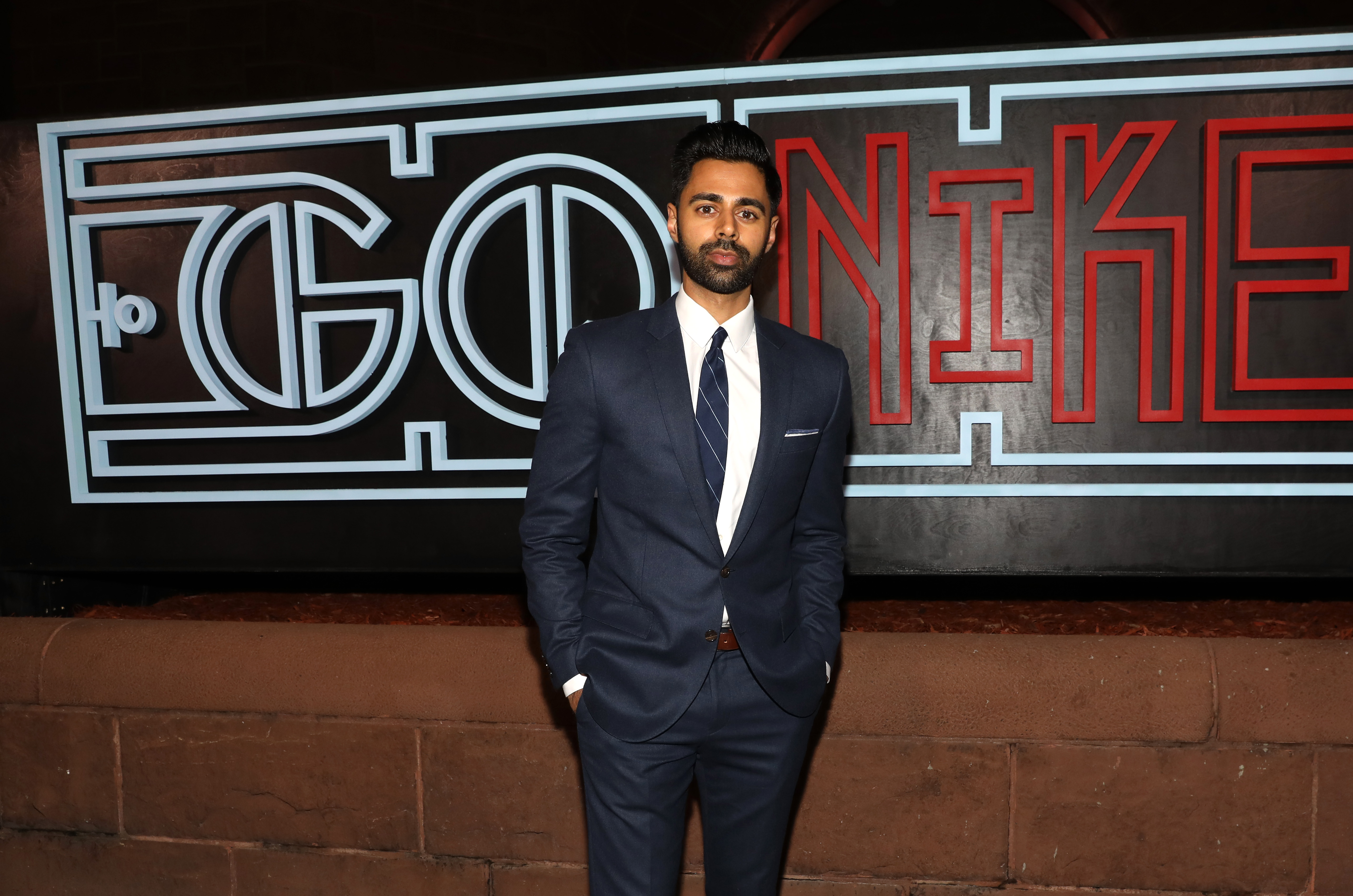 Actor, comedian Hasan Minhaj attends GQ Celebration of NBA All-Star Weekend 2017 at Ogden Museum Of Southern Art on February 18, 2017 in New Orleans, Louisiana.