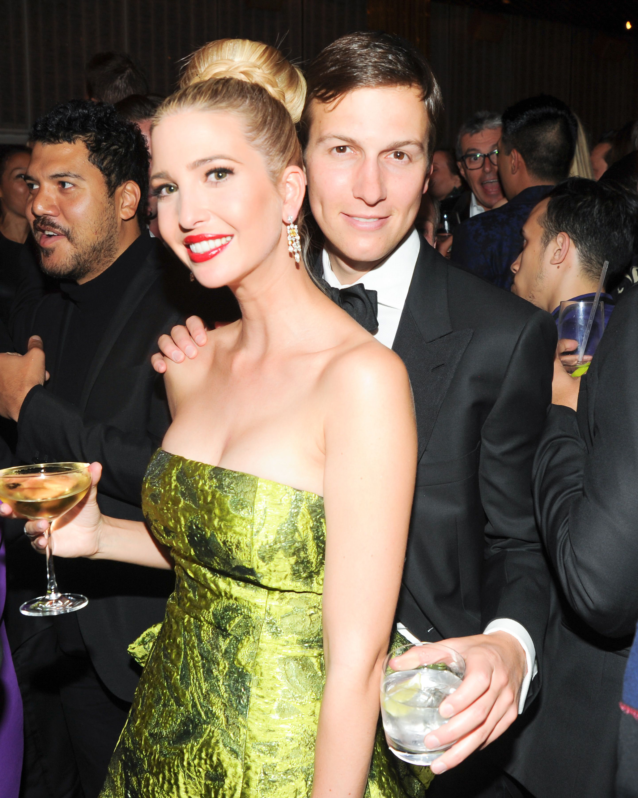 Ivanka Trump and Jared Kushner at the                                Costume Institute Gala Benefit, New York City, May 5, 2014.