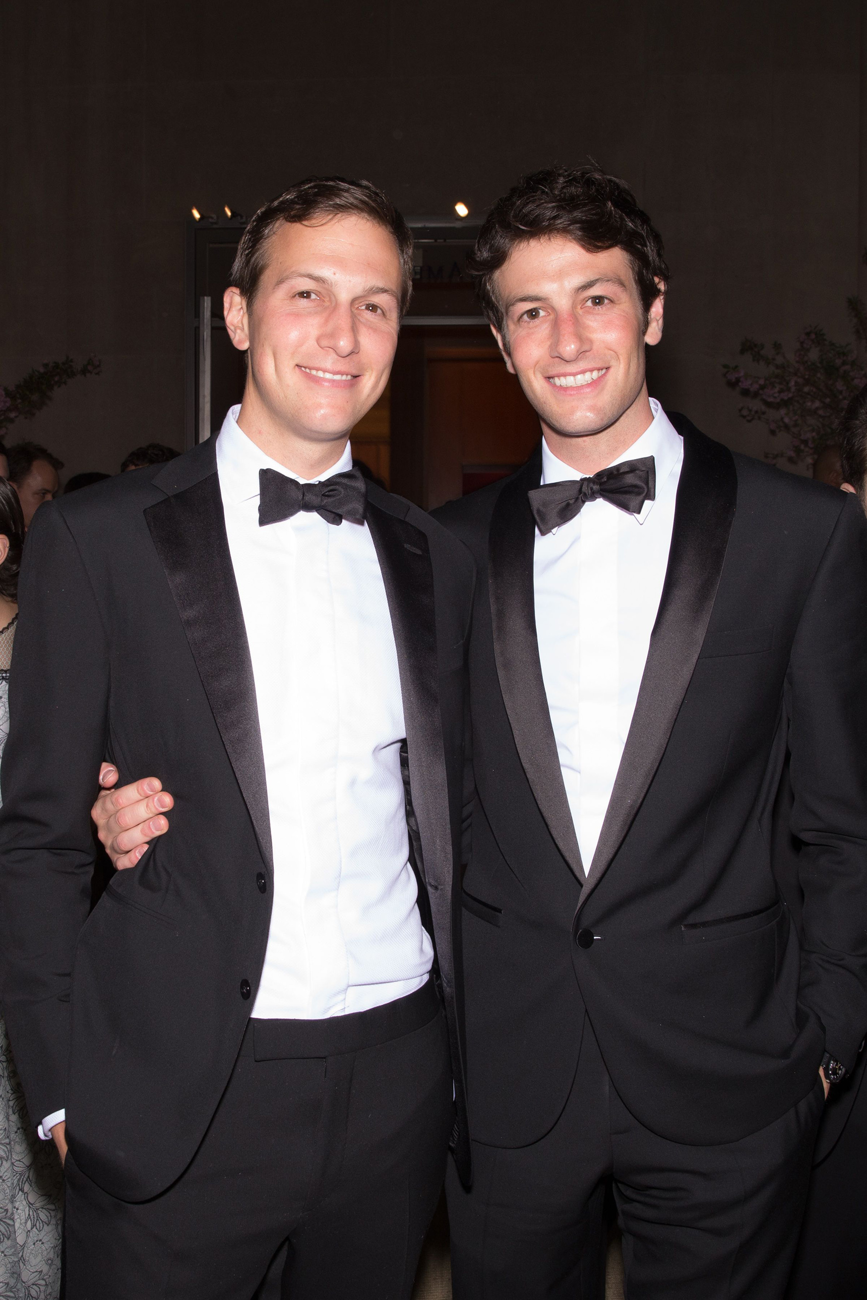 Jared Kushner with his brother Joshua at the                                Costume Institute Gala Benefit, New York, May 4, 2015.
