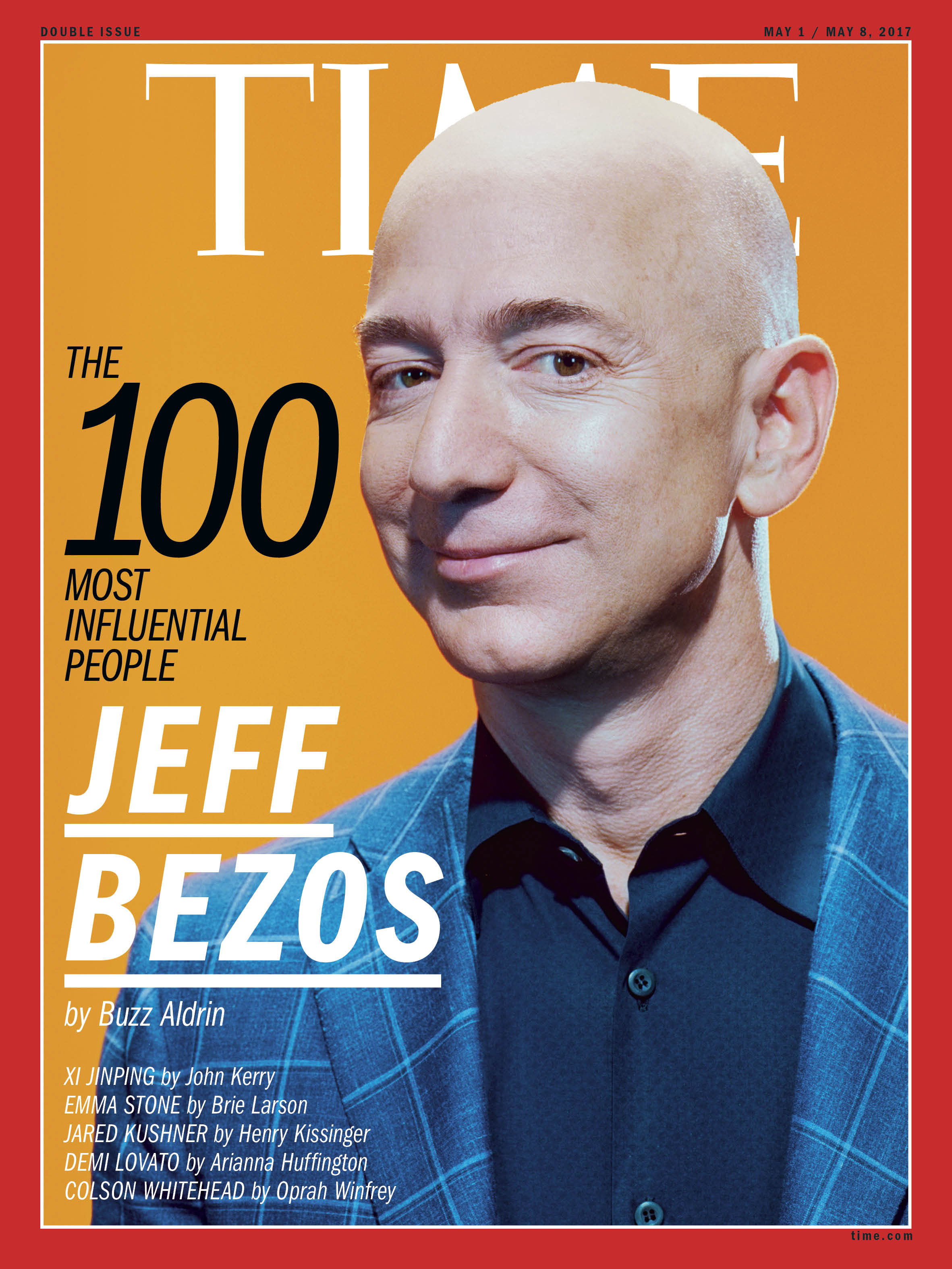 Jeff Bezos, TIME 100 Most Influential People cover.