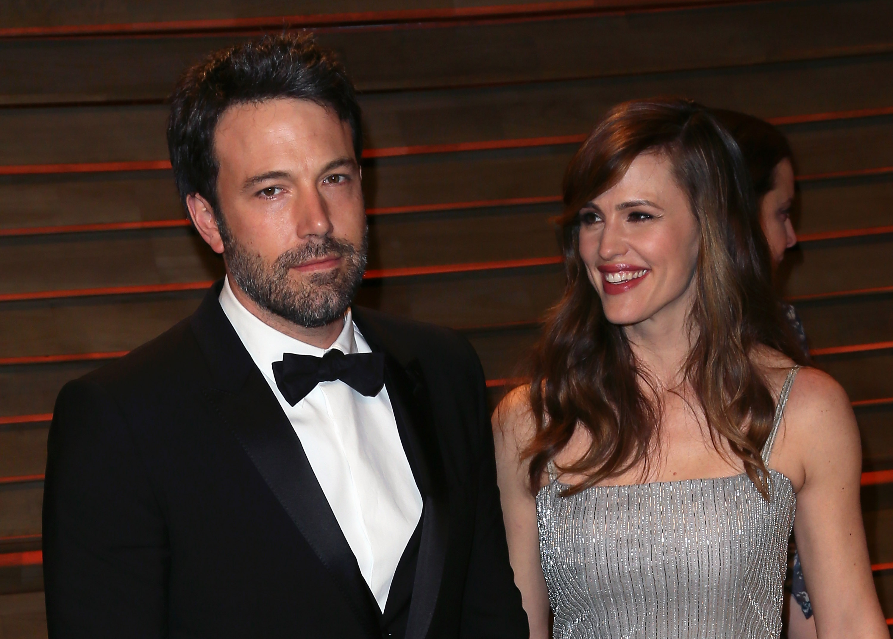 Actor/director Ben Affleck and actress Jennifer Garner attend the 2014 Vanity Fair Oscar Party hosted by Graydon Carter on March 2, 2014 in West Hollywood, California.