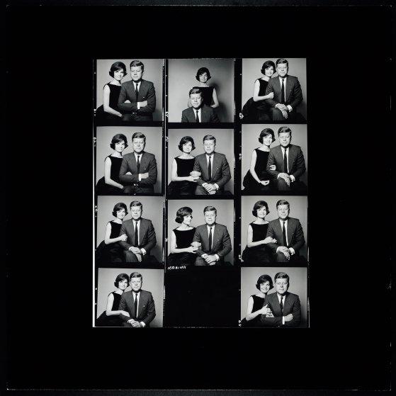 JFK and Family by Richard Avedon