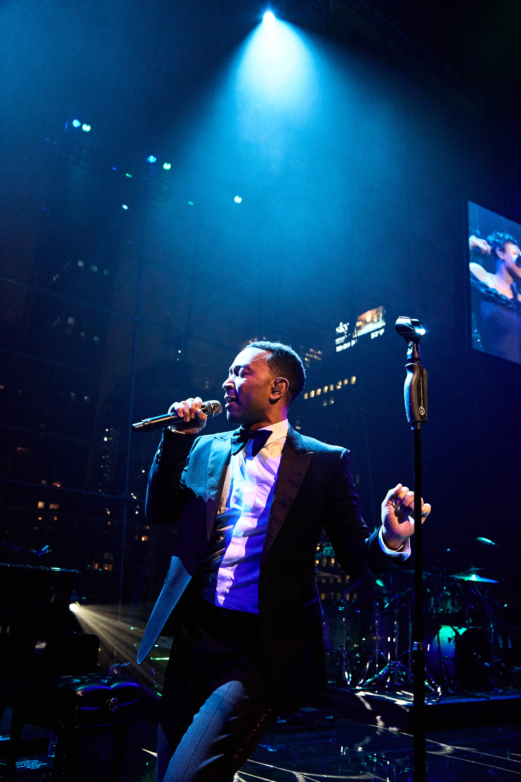 John Legend performs at the Time 100 Gala at Jazz at Lincoln Center on April 25, 2017 in New York City.