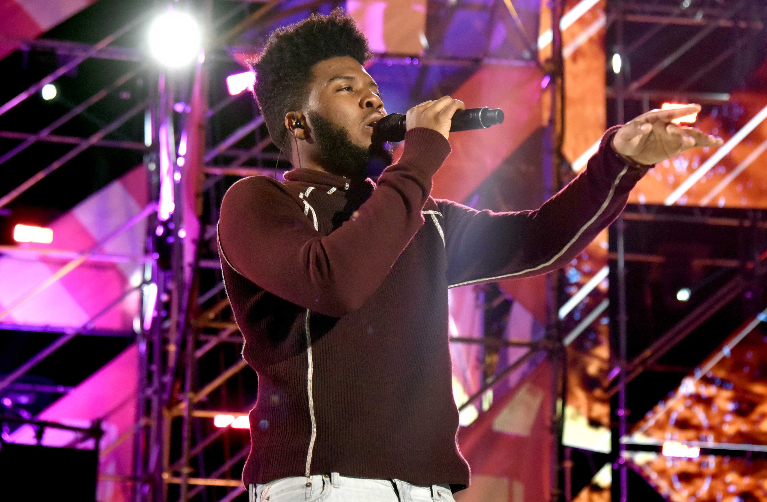 Khalid performs onstage at MTV Woodies LIVE on March 16, 2017 in Austin, Texas.
