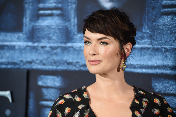 Lena Headey attends the premiere for season six of Game Of Thrones at TCL Chinese Theatre on April 10, 2016 in Hollywood City.