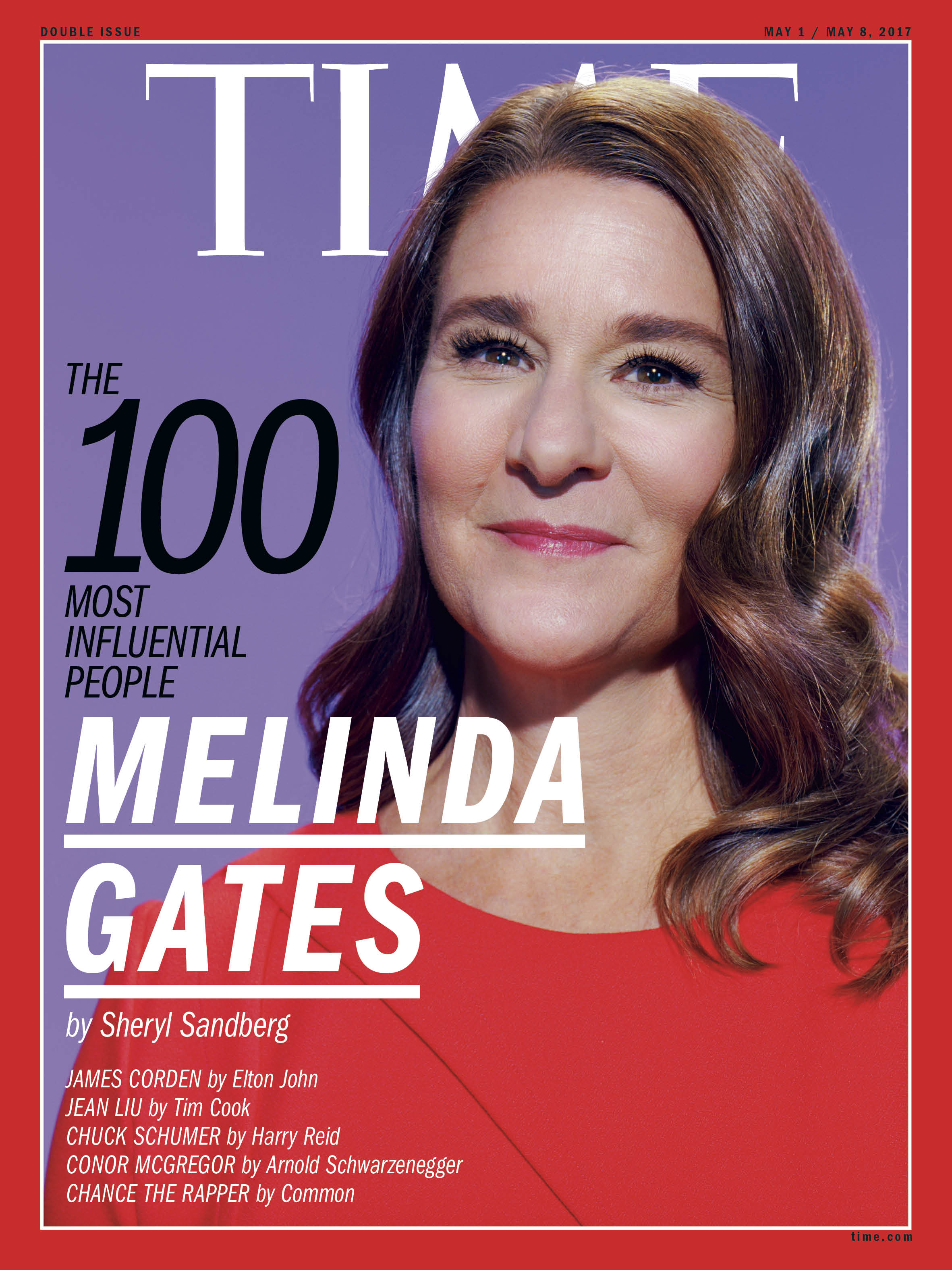Melinda Gates, TIME 100 Most Influential People cover.