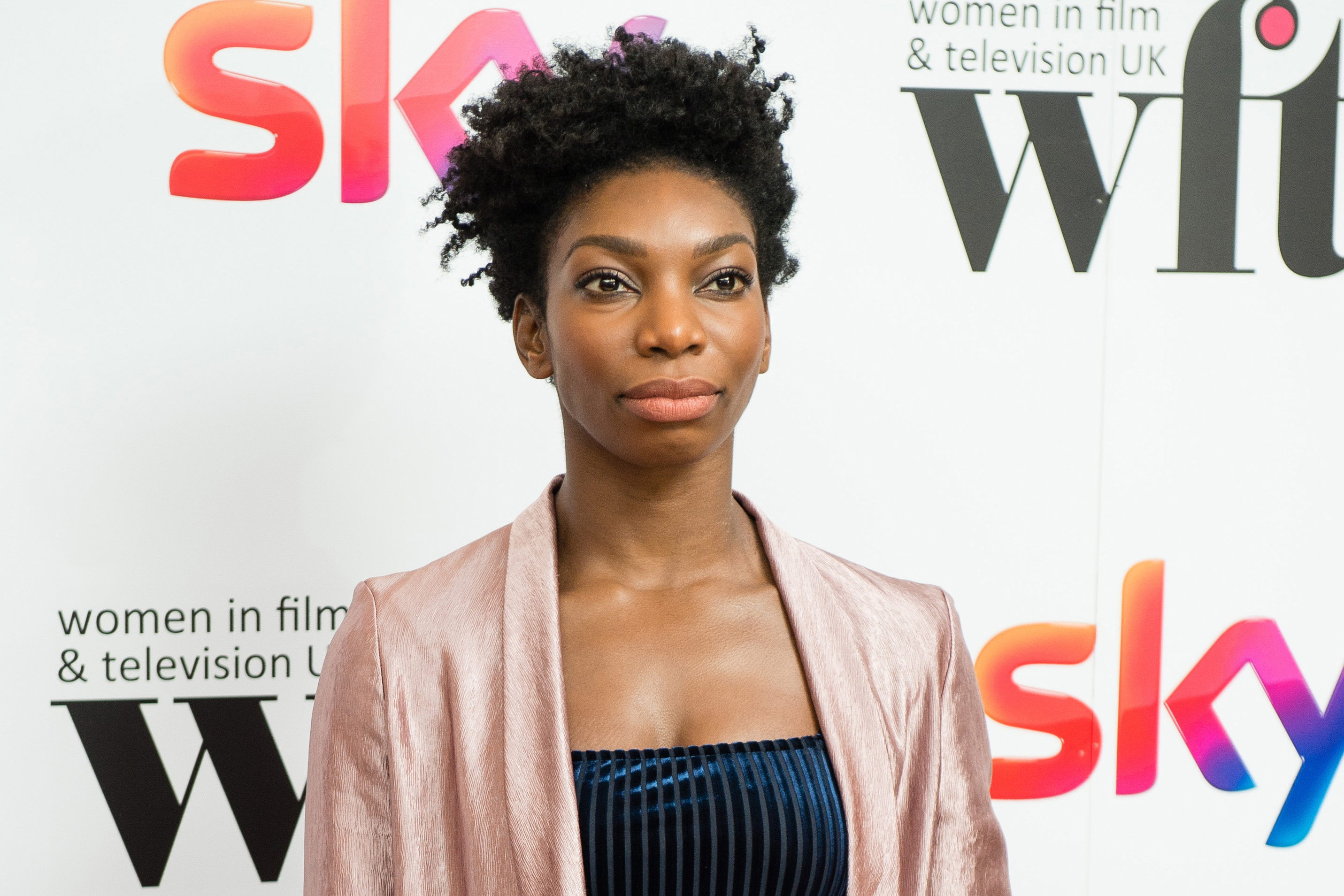 Michaela Coel attends the Sky Women In Film & TV Awards at London Hilton on December 2, 2016 in London, England.