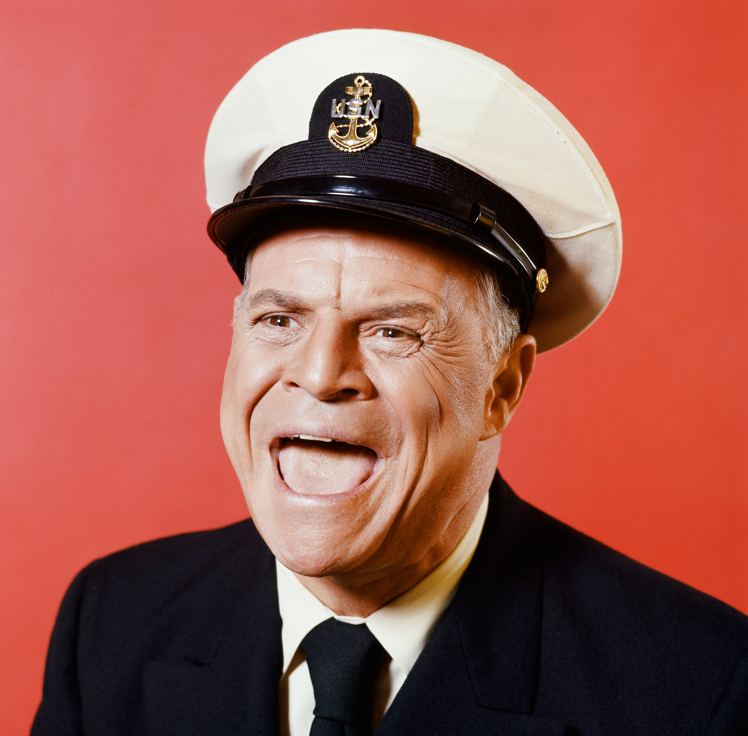 Don Rickles is seen in his role as C.P.O. Otto Sharkey on Nov. 19, 1971.