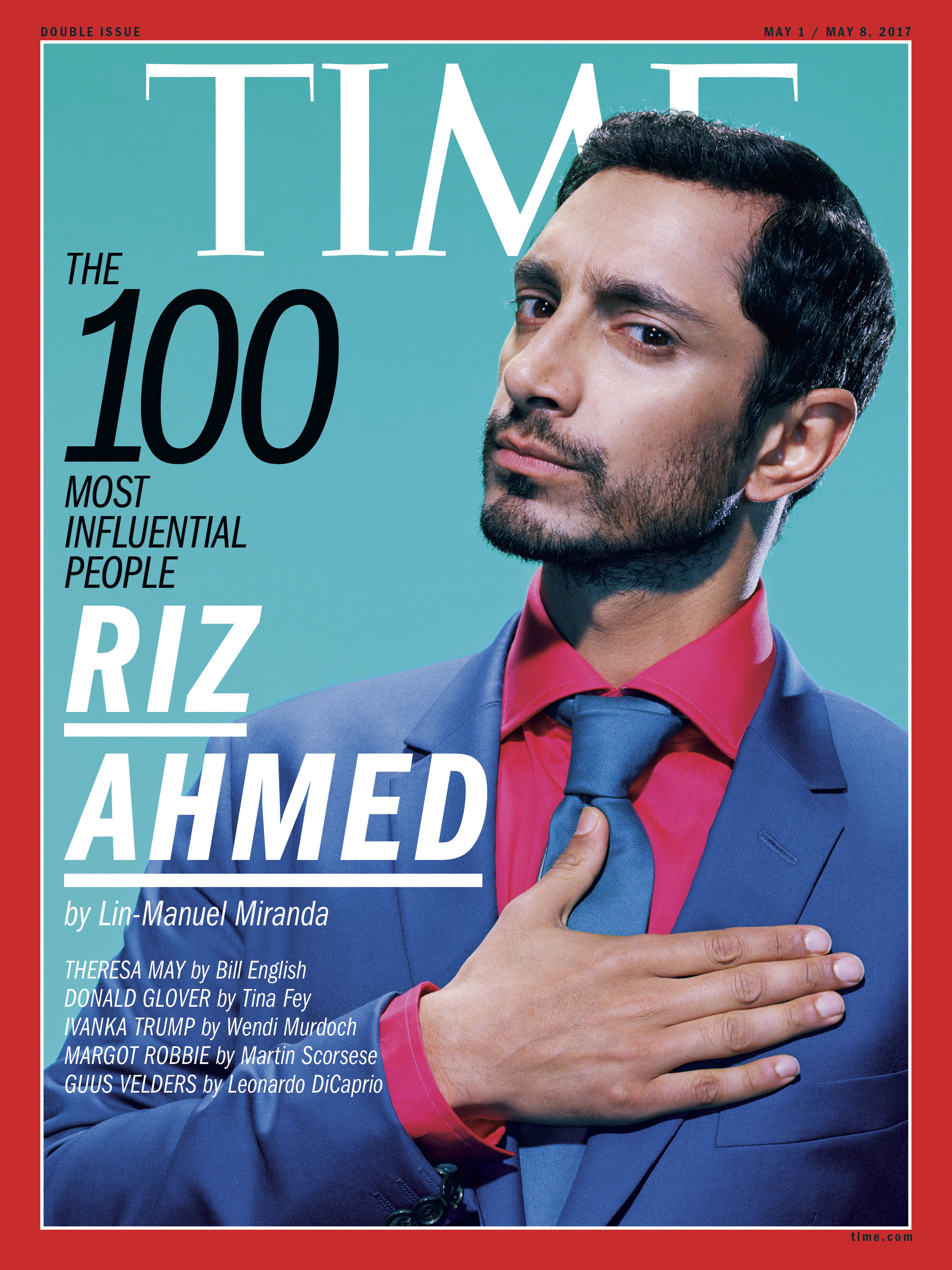 Riz Ahmed, TIME 100 Most Influential People cover.