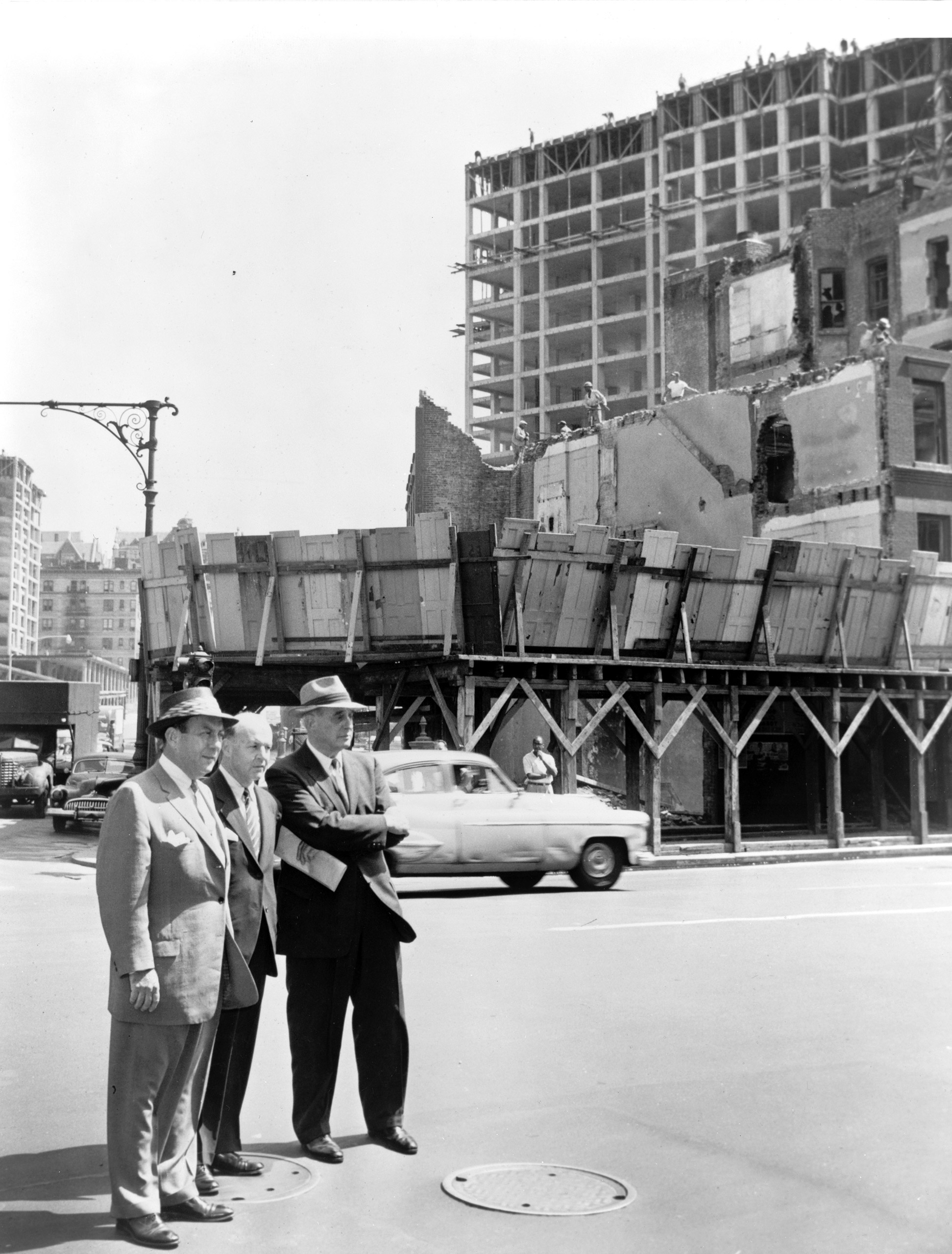 Robert Moses and Mayor Wagner