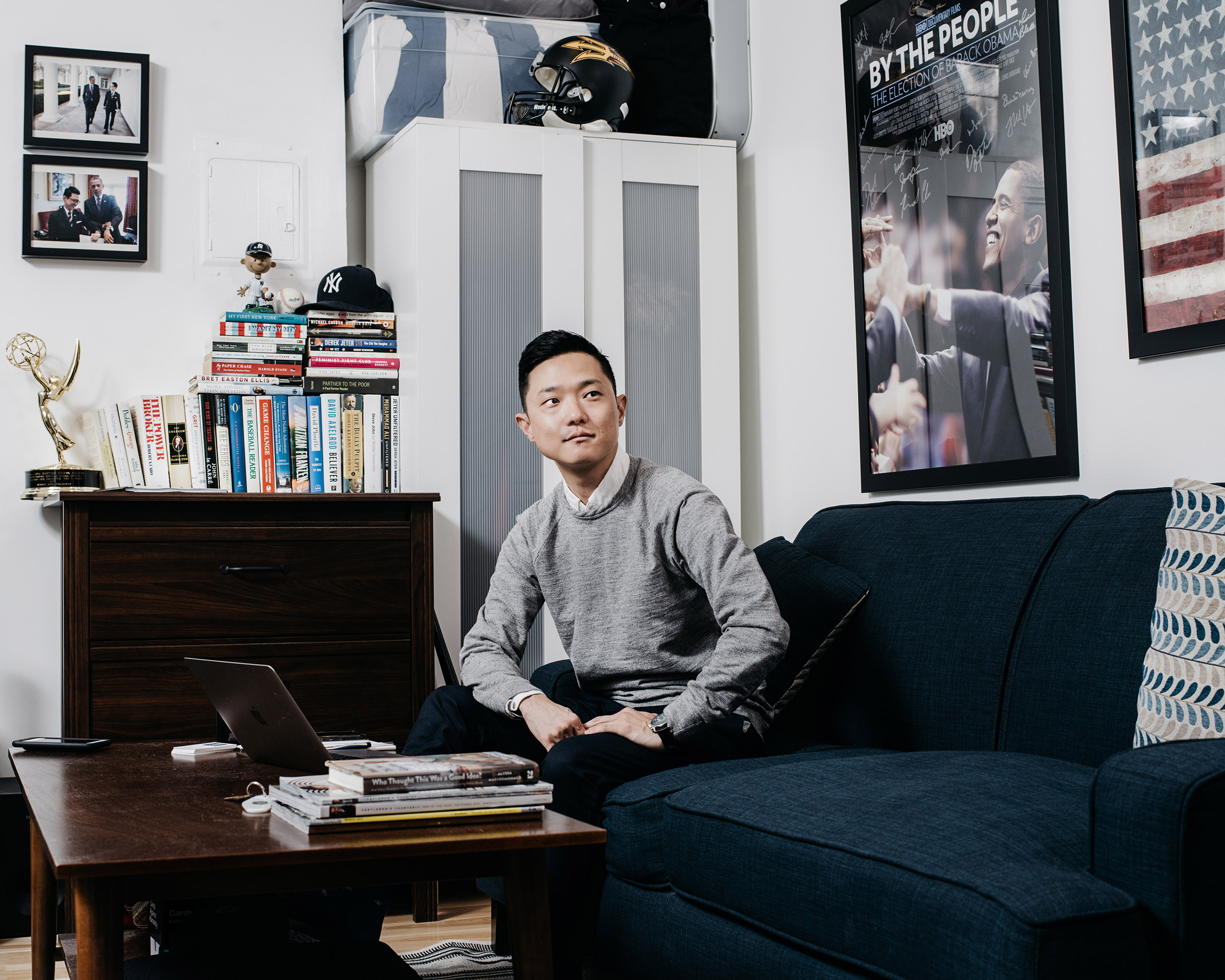 Ronnie Cho, 34. Candidate for New York City Council District 2 •Worked as an Iowa field organizer for Barack Obama's 2008 campaign and later as a White House aide •Former vice president at MTV in New York City •Decided to run after Obama encouraged supporters to do so during his farewell speech in January.