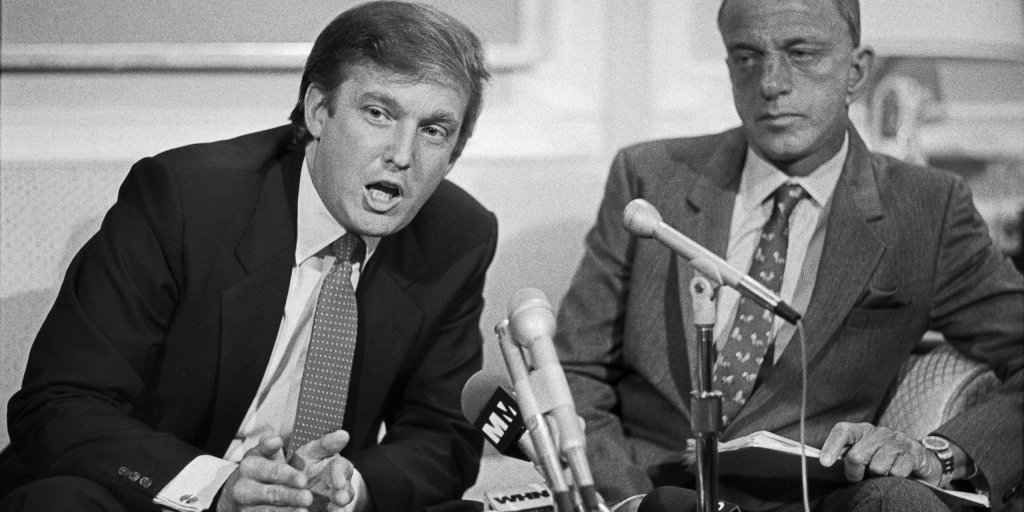 Donald Trump and Roy Cohn: Paranoid Friendship | Time
